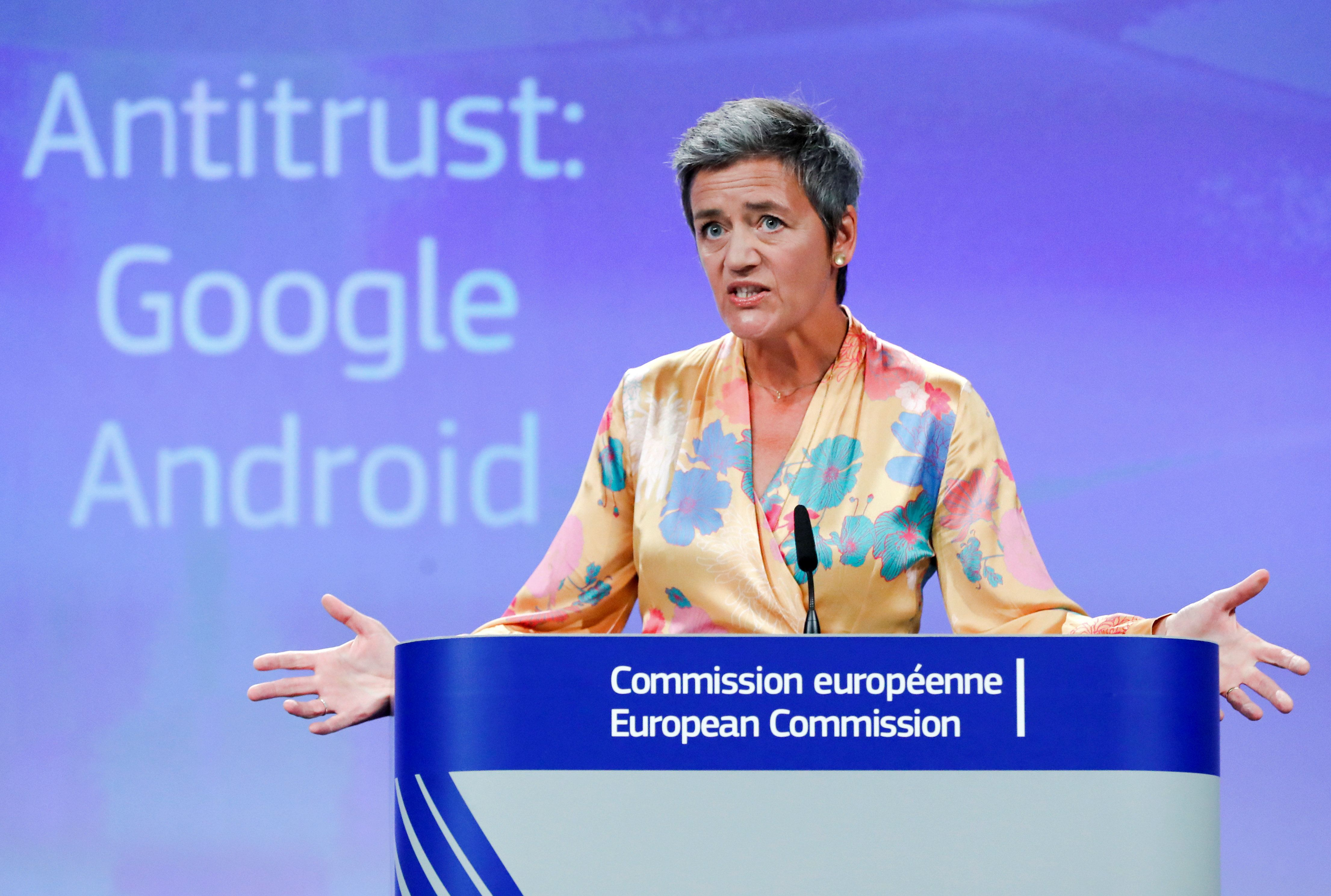 GOOGLE AND THE EU: JUST FINE THANKS