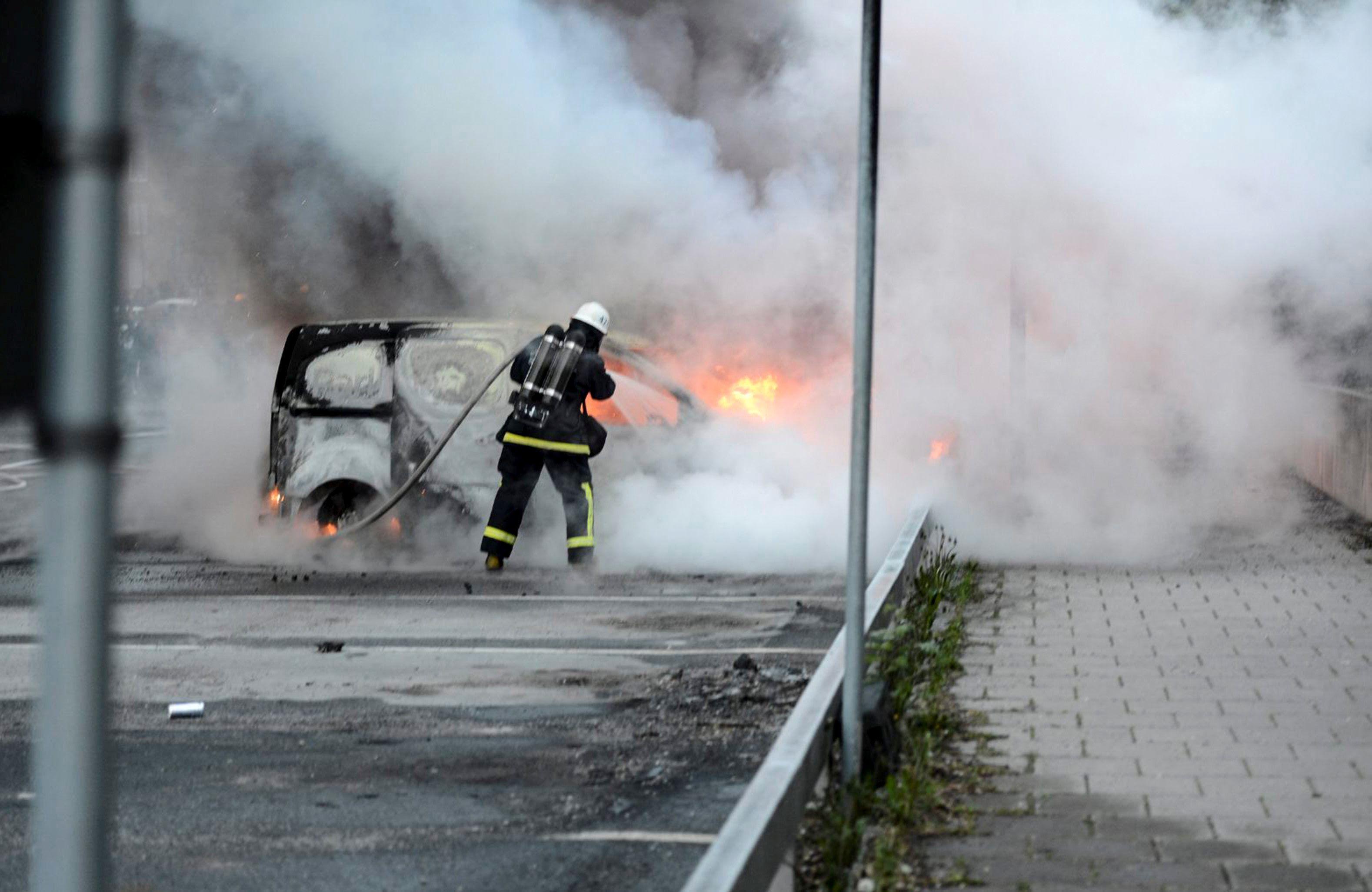 Pre-election Violence in Sweden