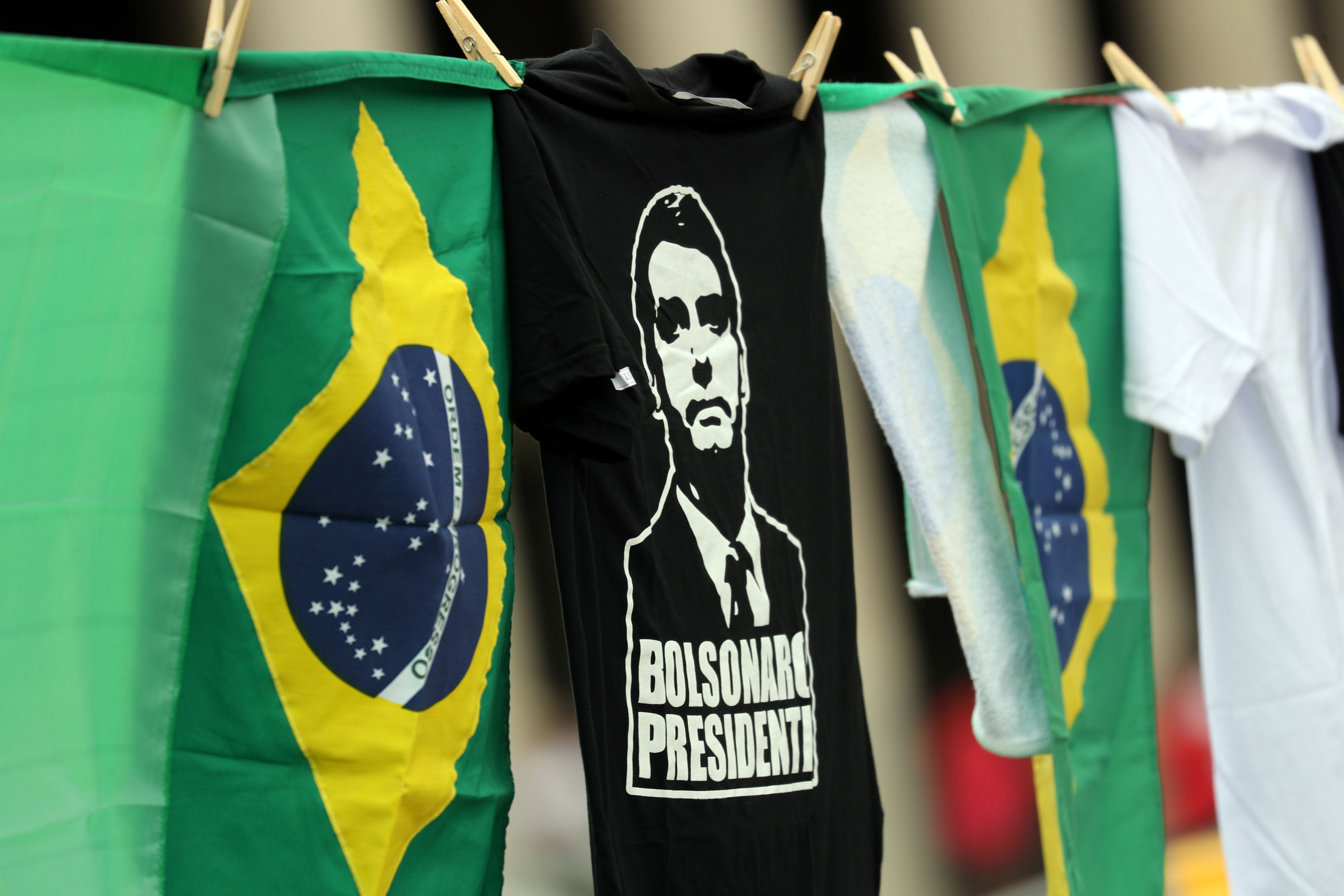 BRAZIL GOES TO THE POLLS