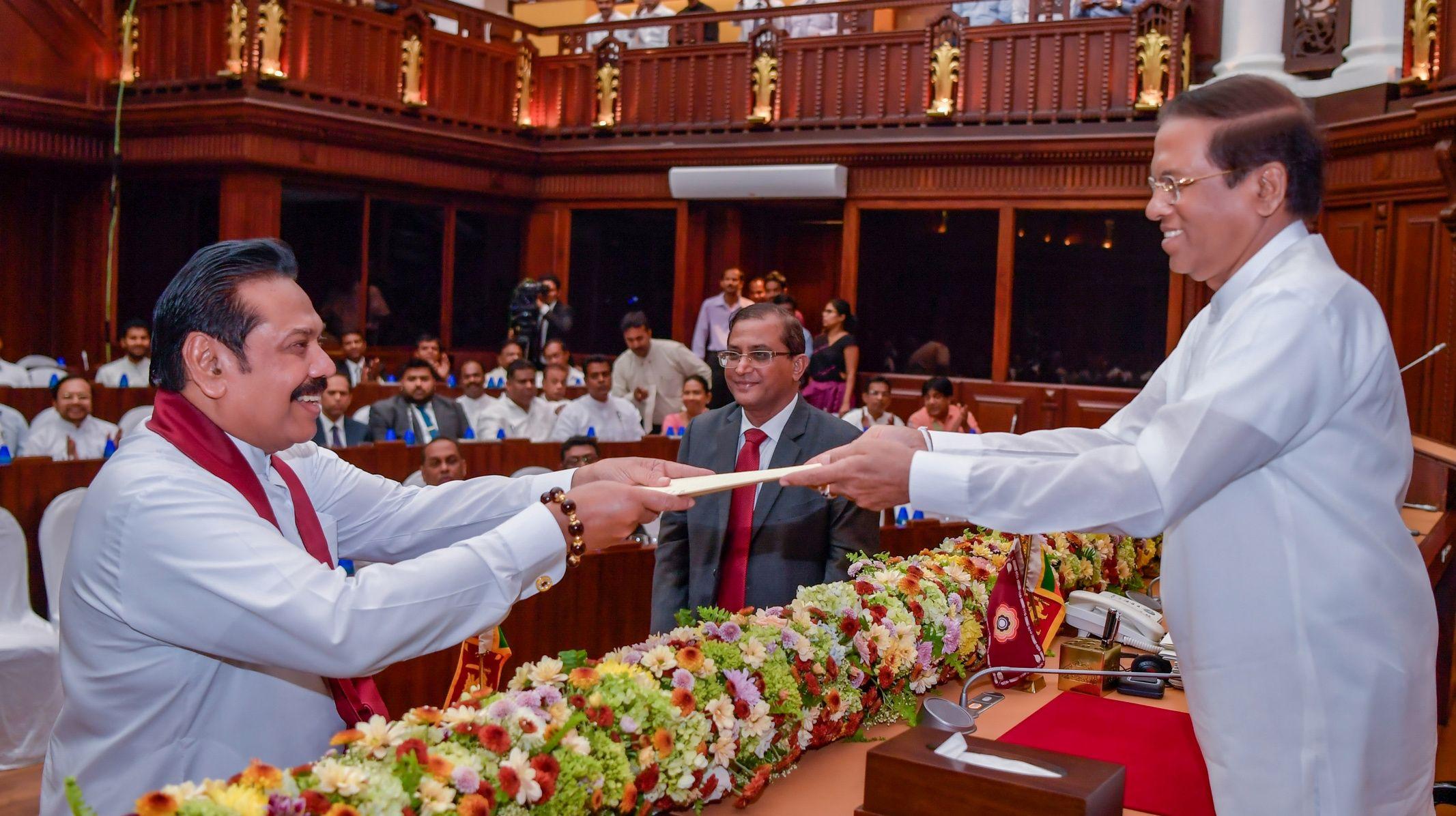 BIG STORY, SMALL COUNTRY: SRI LANKA'S POLITICAL CRISIS