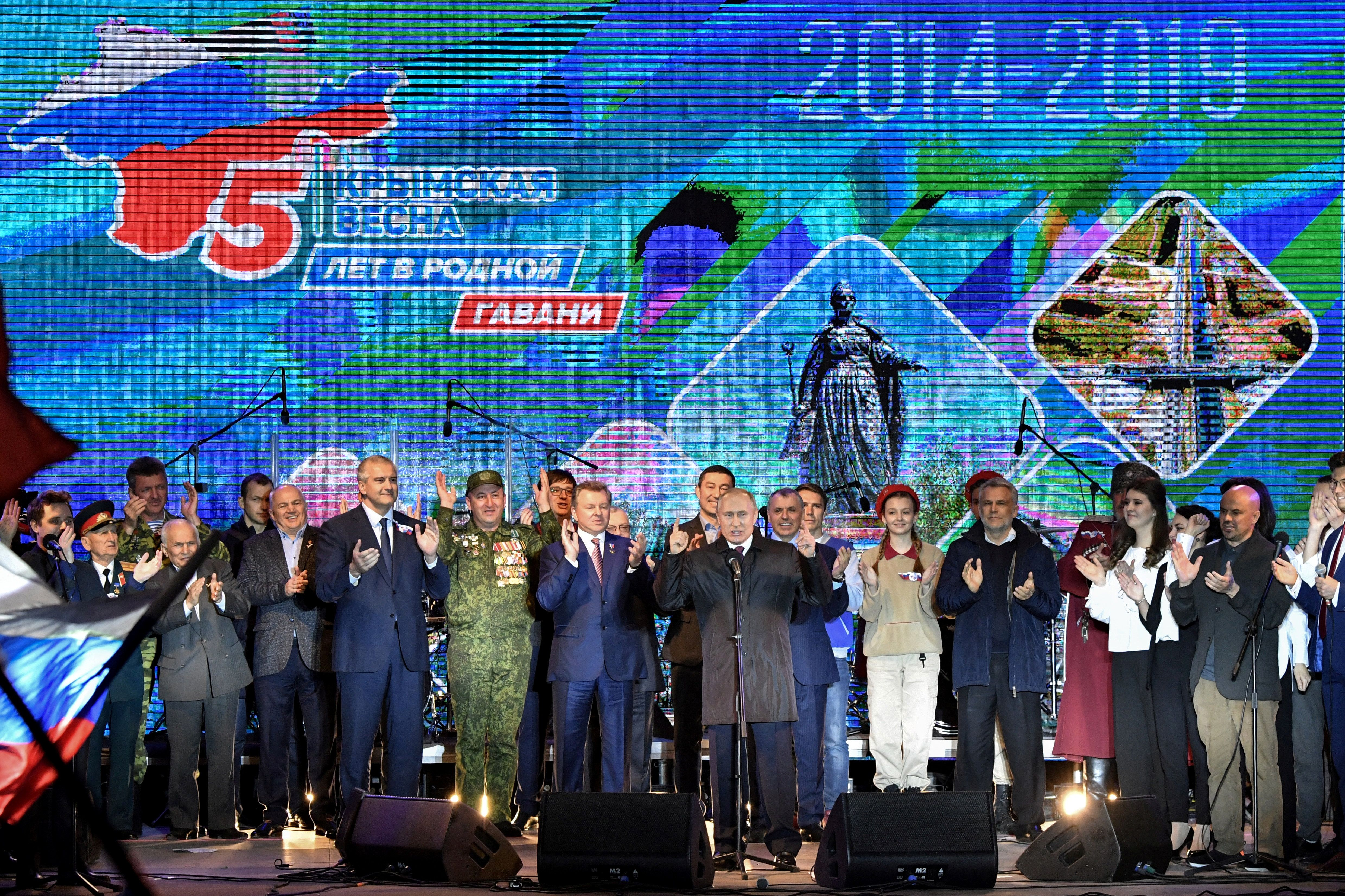 TWO VISITS FROM THE EAST: PUTIN AND XI