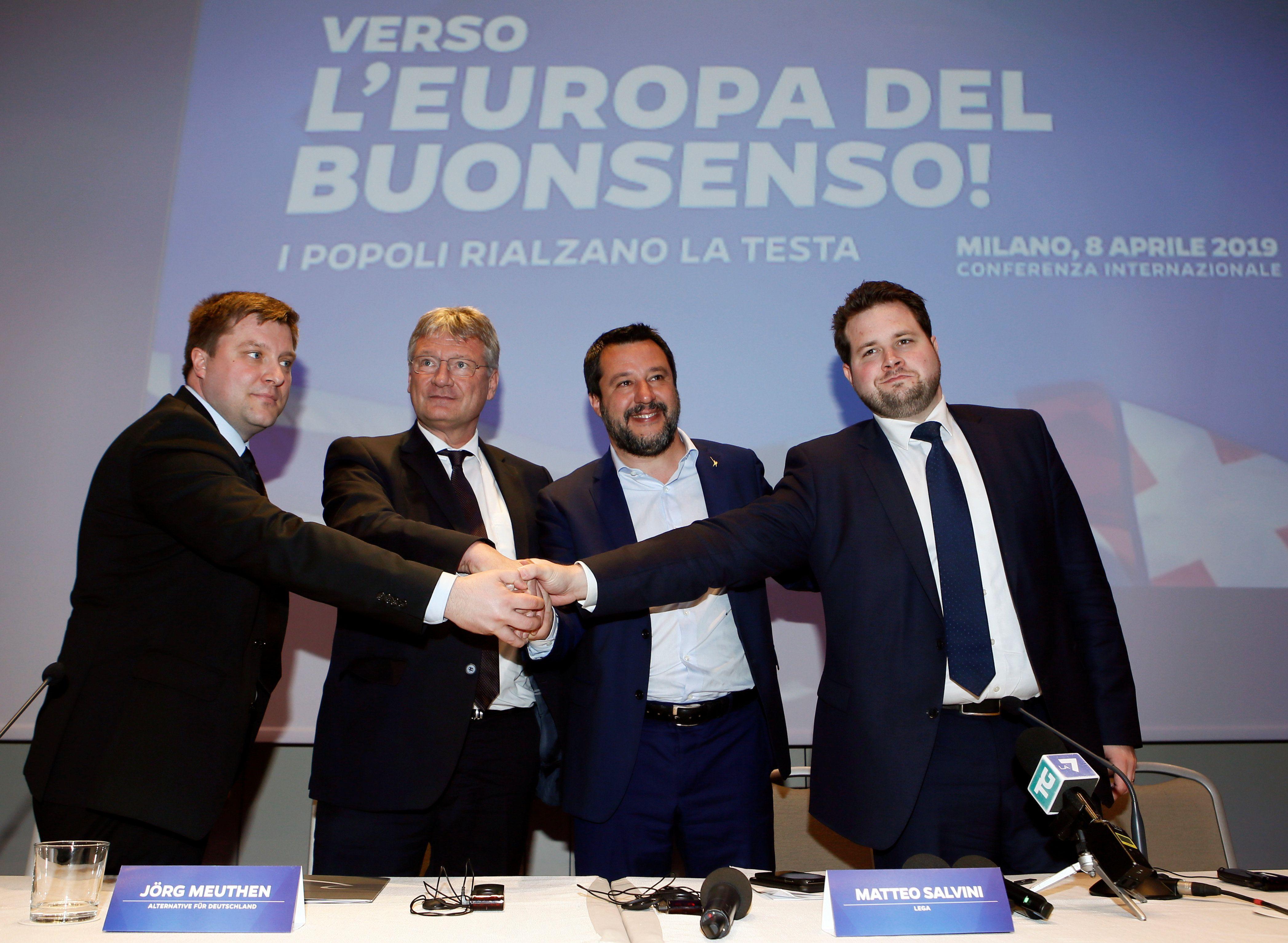 Matteo Salvini Threw A Lame Party on Monday