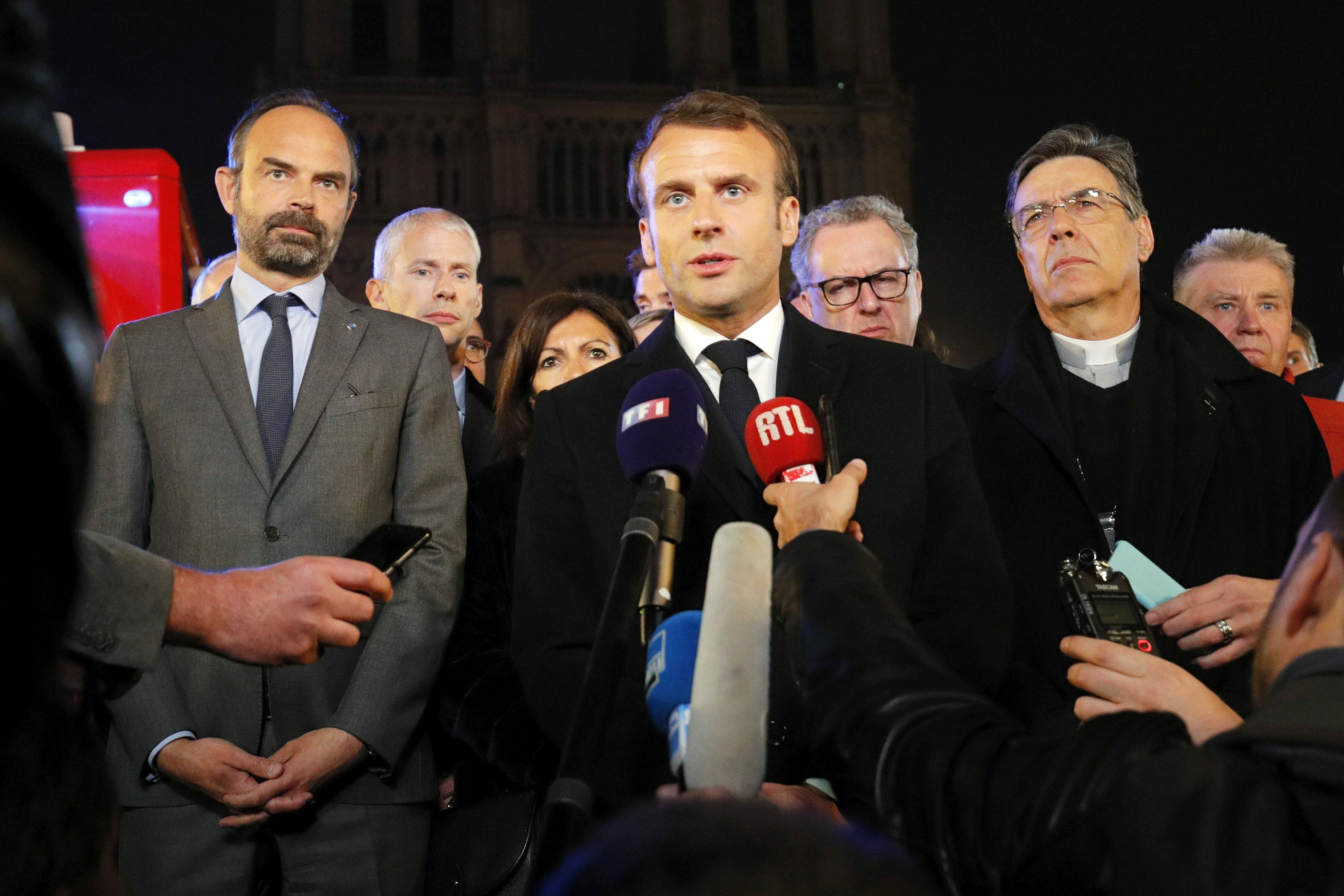 The Politics of Notre-Dame: Playing with Fire
