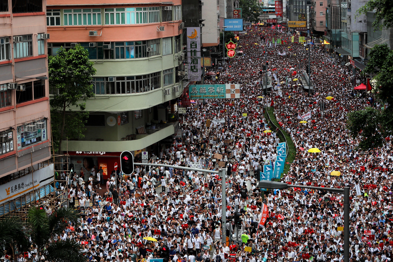 Hong Kong Hits the Streets