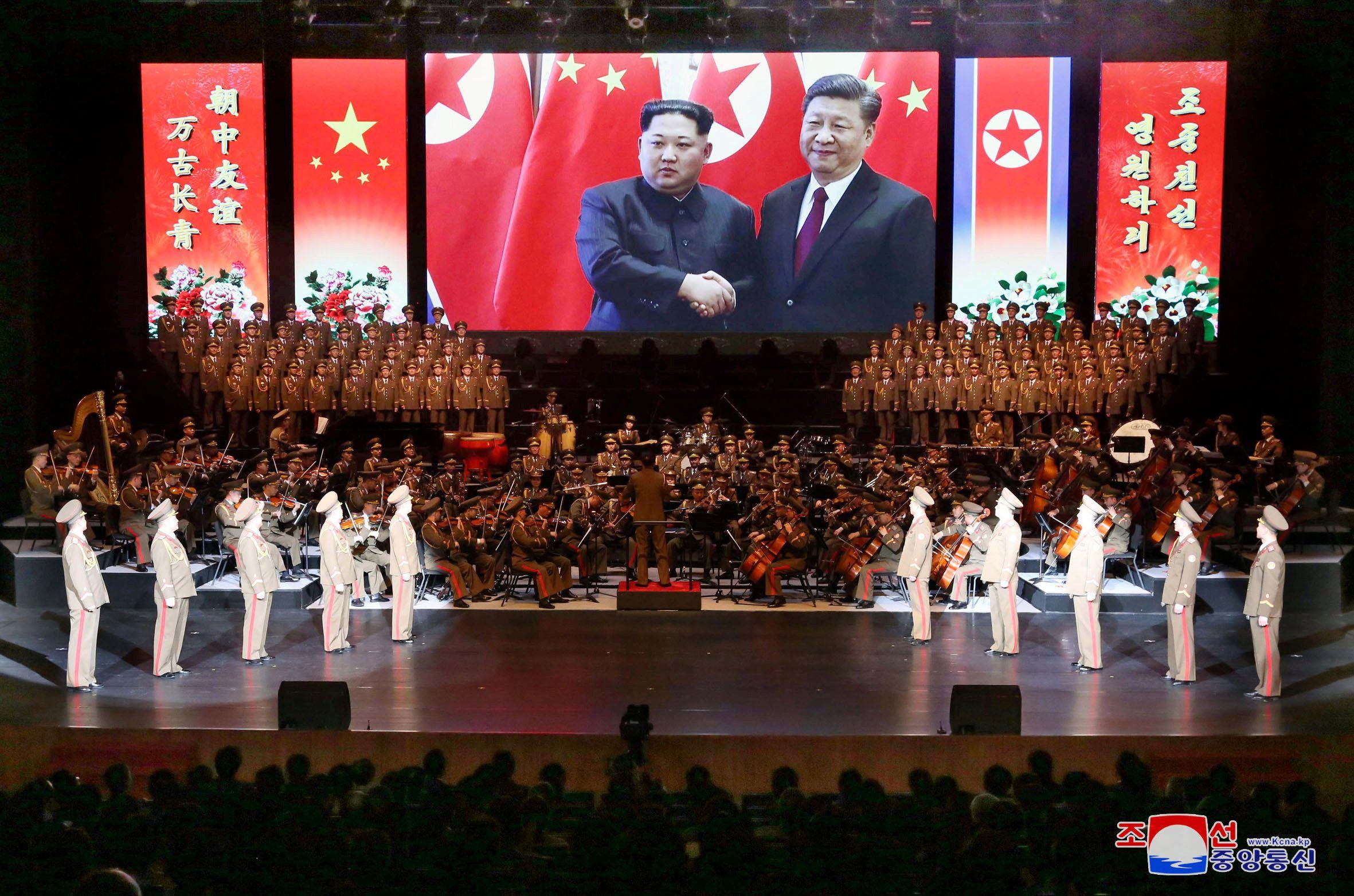 You Get To Be Xi Jinping Visiting North Korea