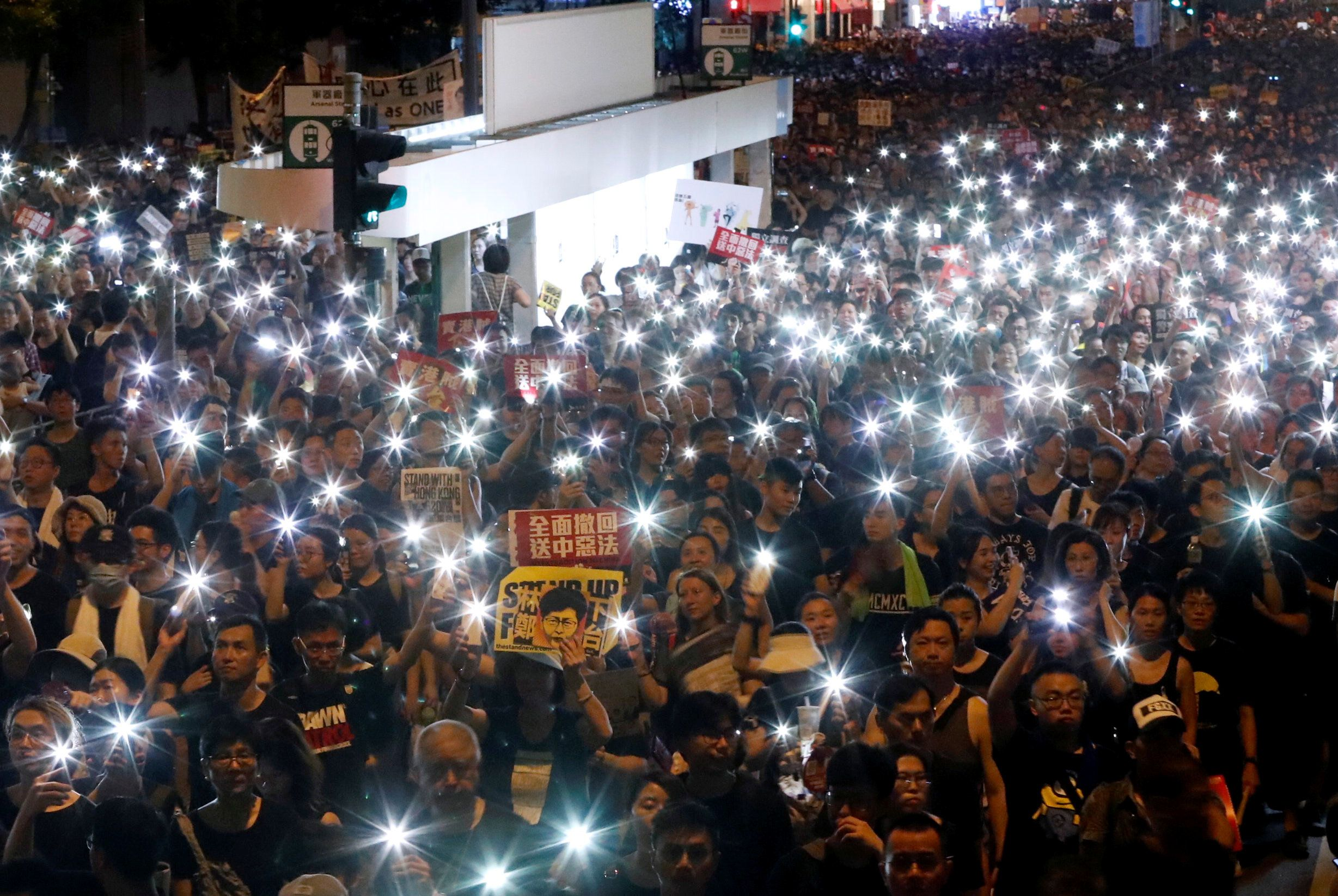 What We're Watching: Hong Kong, Rome vs Brussels, Tunisia's President
