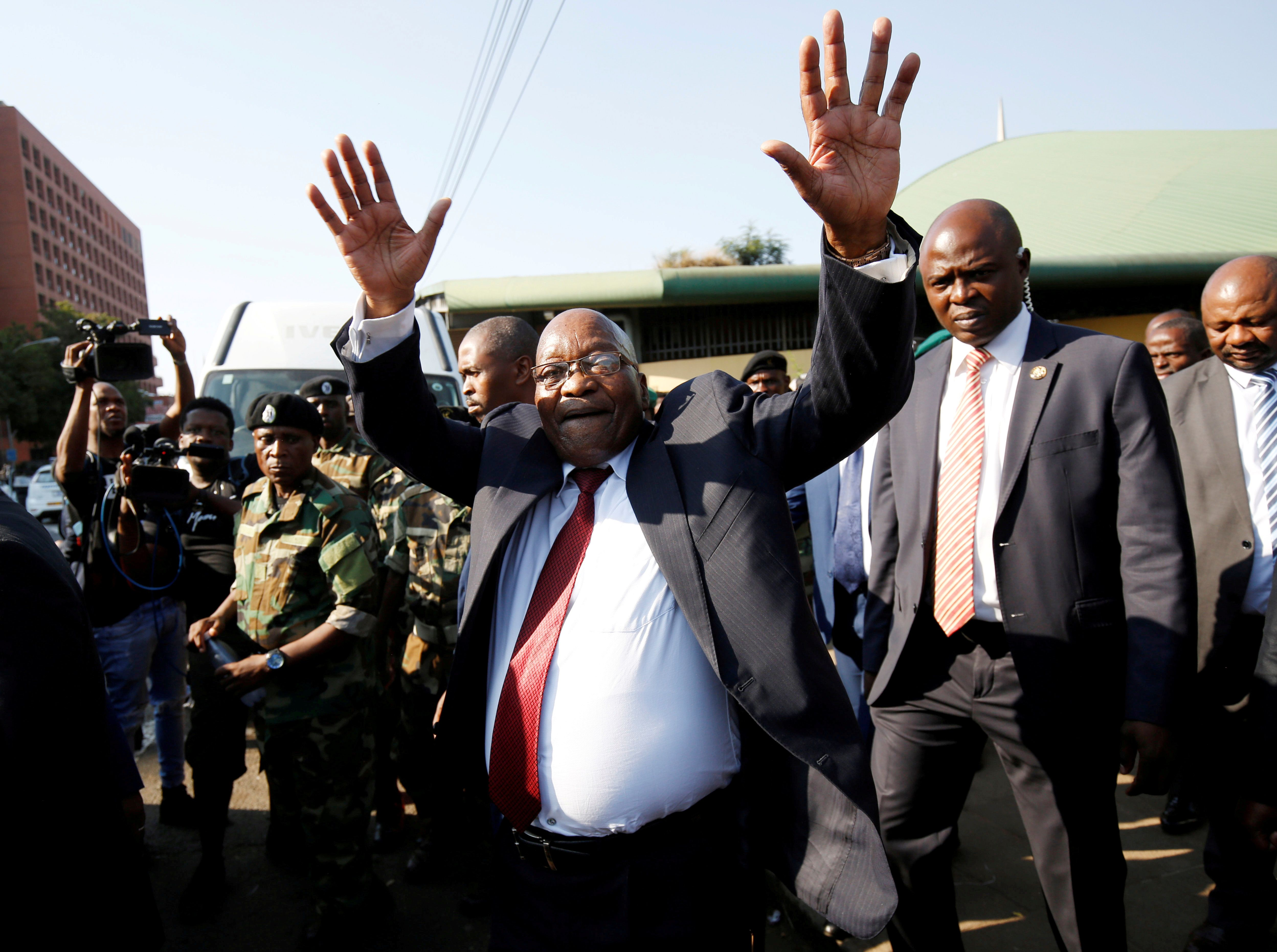 What We're Watching: Zuma in court, Ebola in the big city, and Italian neo-nazis