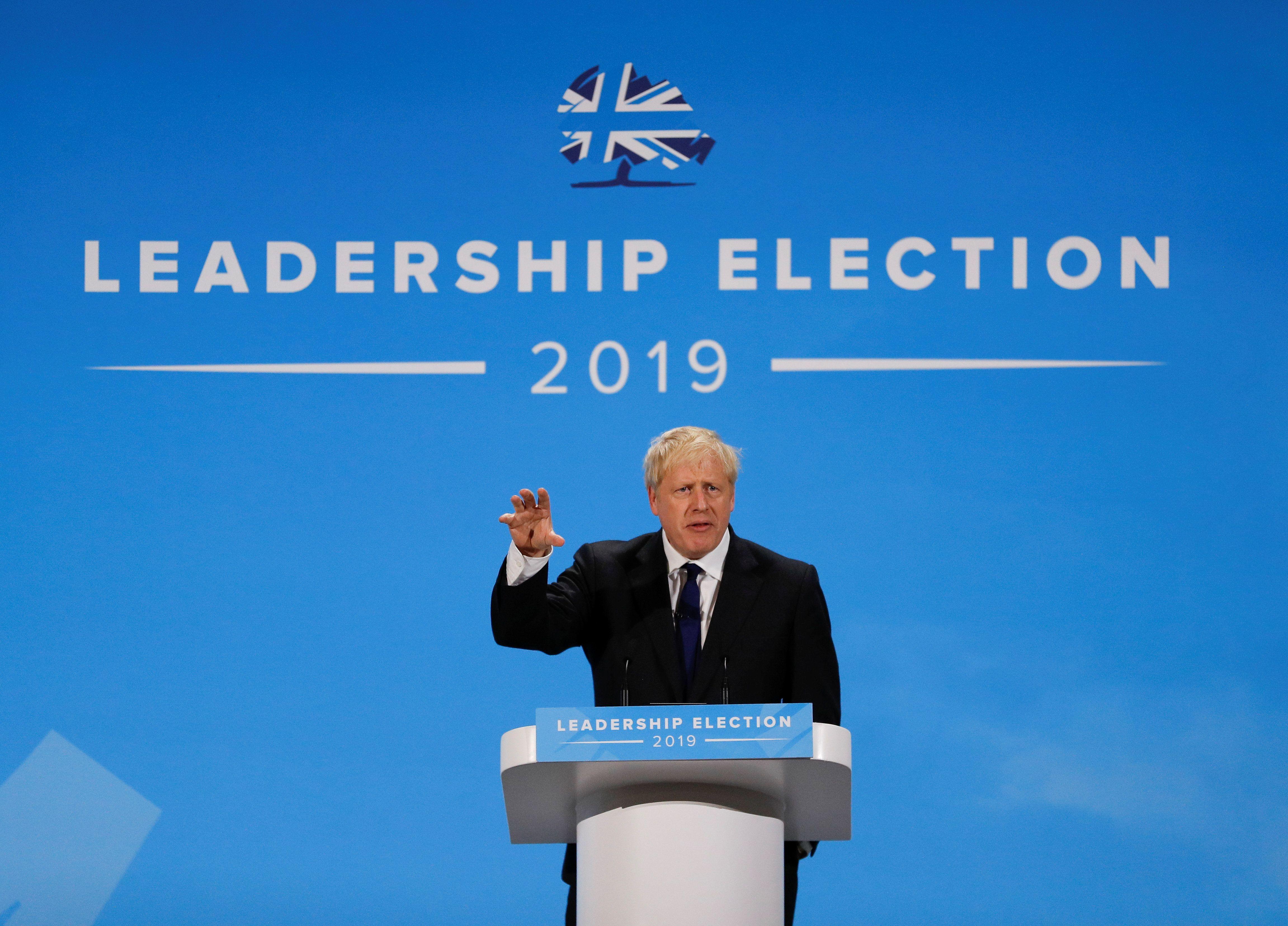 Boris Johnson's Three Plates of Cake