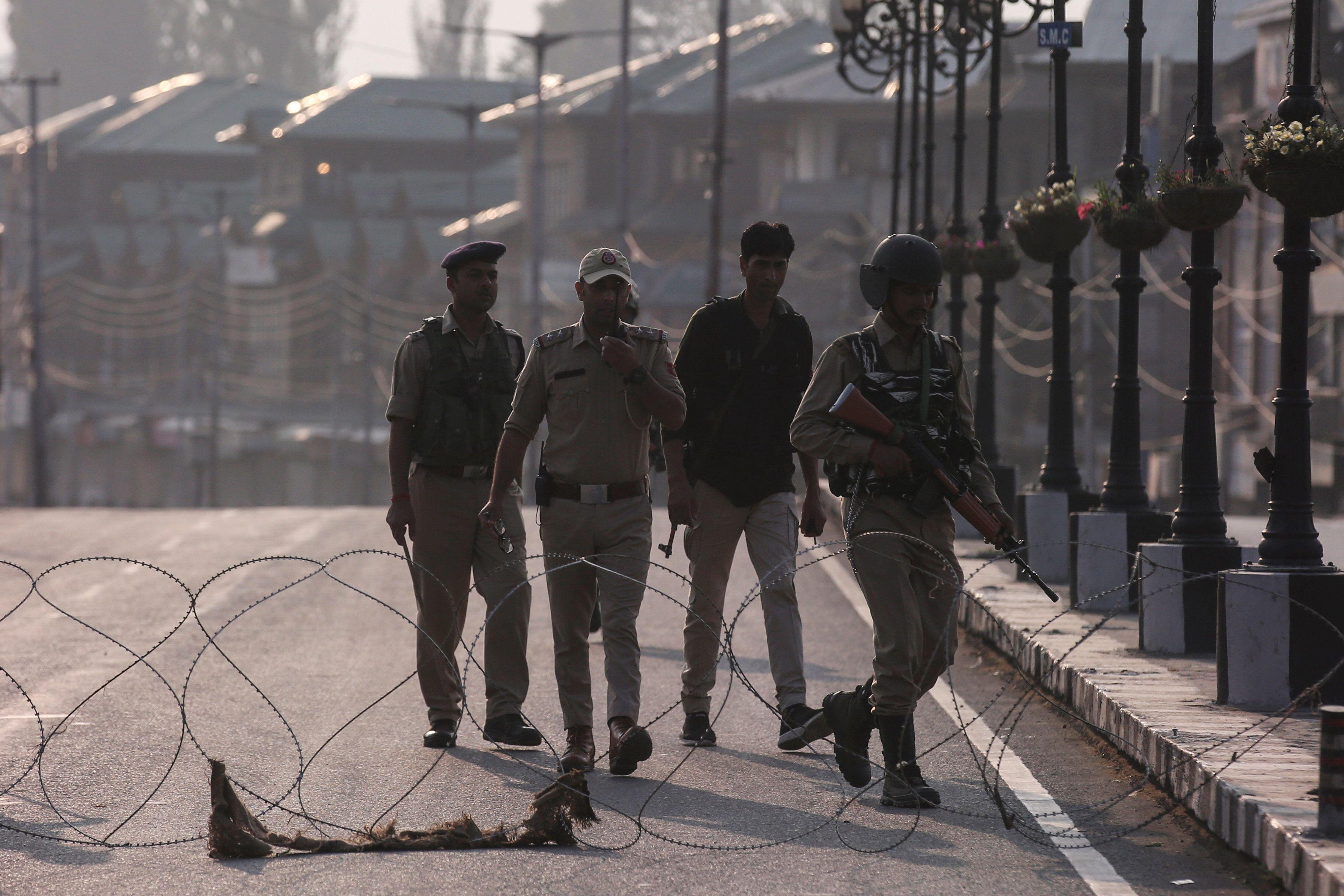 India Strikes a Political Match in Kashmir