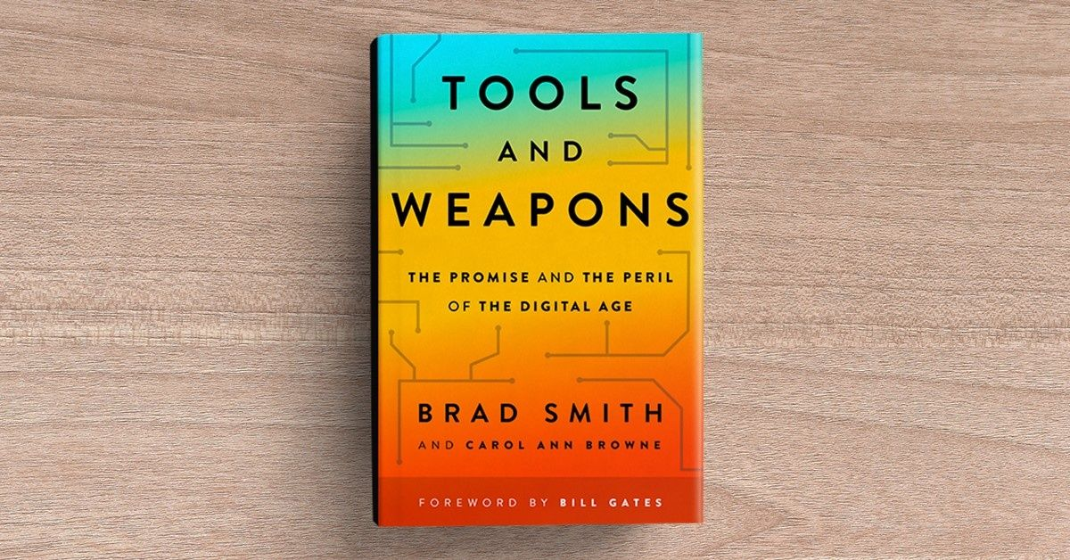 Available Sept. 10: 'Tools and Weapons' from Microsoft President Brad Smith