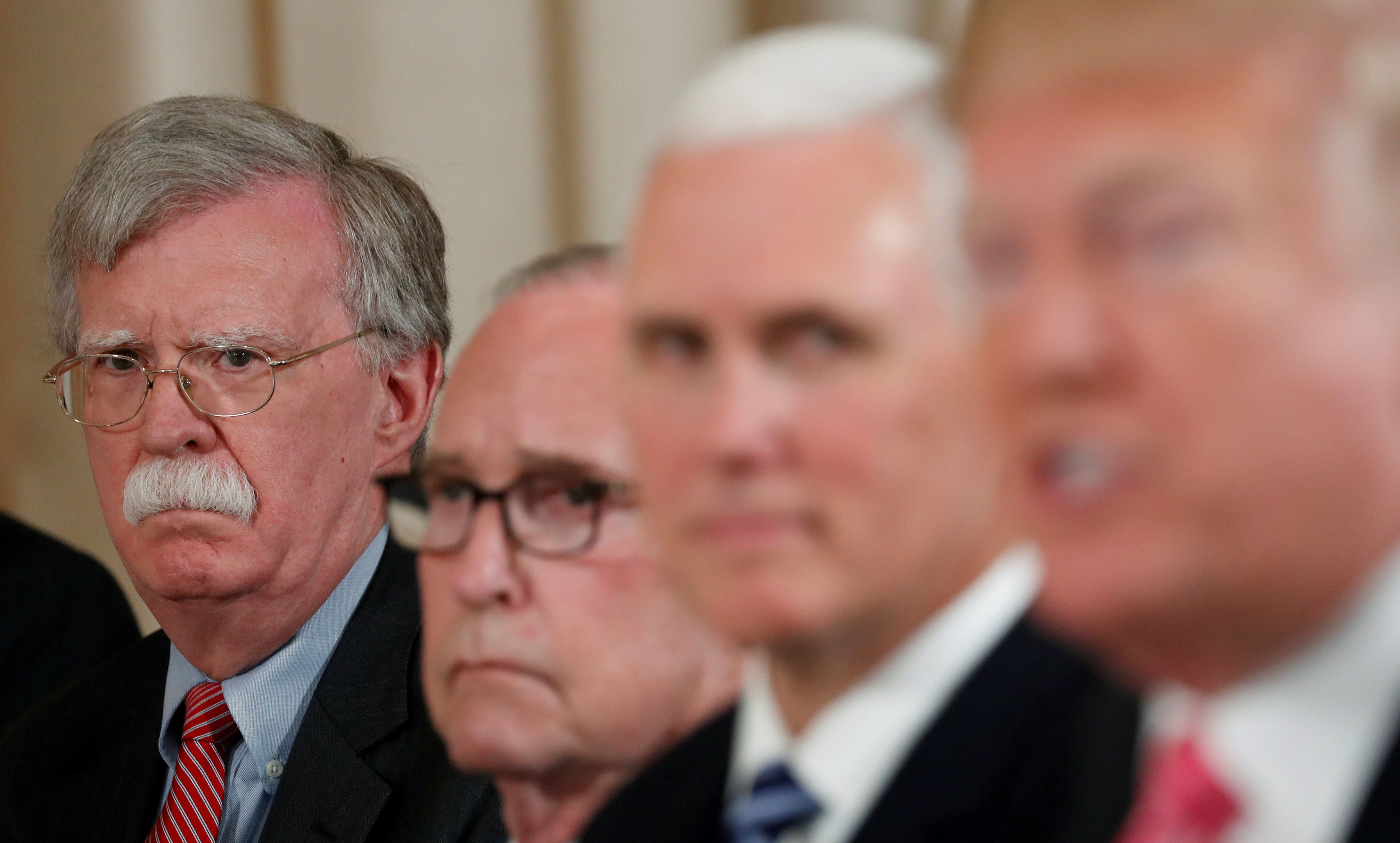 What We're Watching: Bolton's Exit, Kremlin Spies, and Turkish Threats