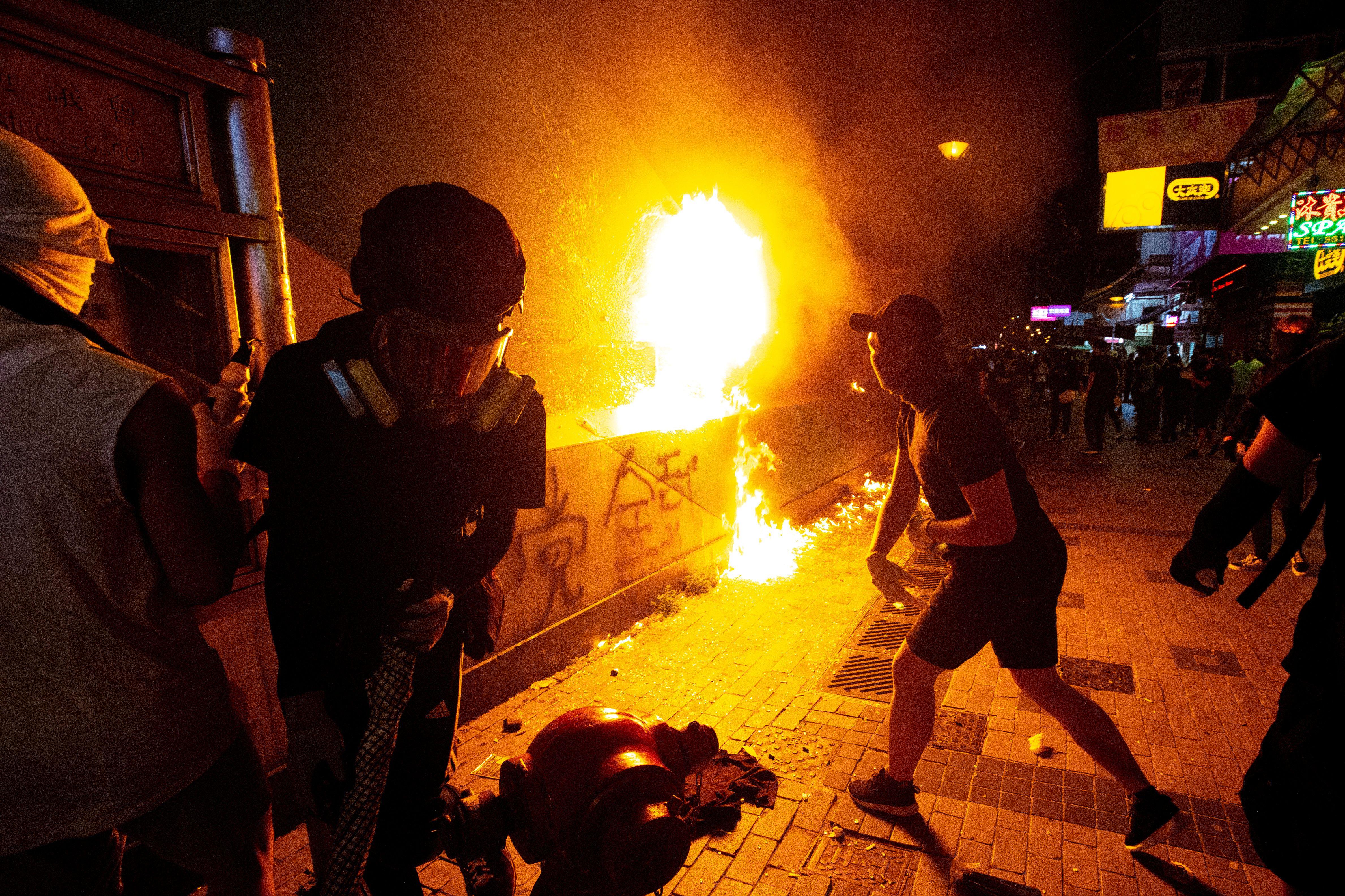 What We're Watching: A Dangerous Escalation in Hong Kong