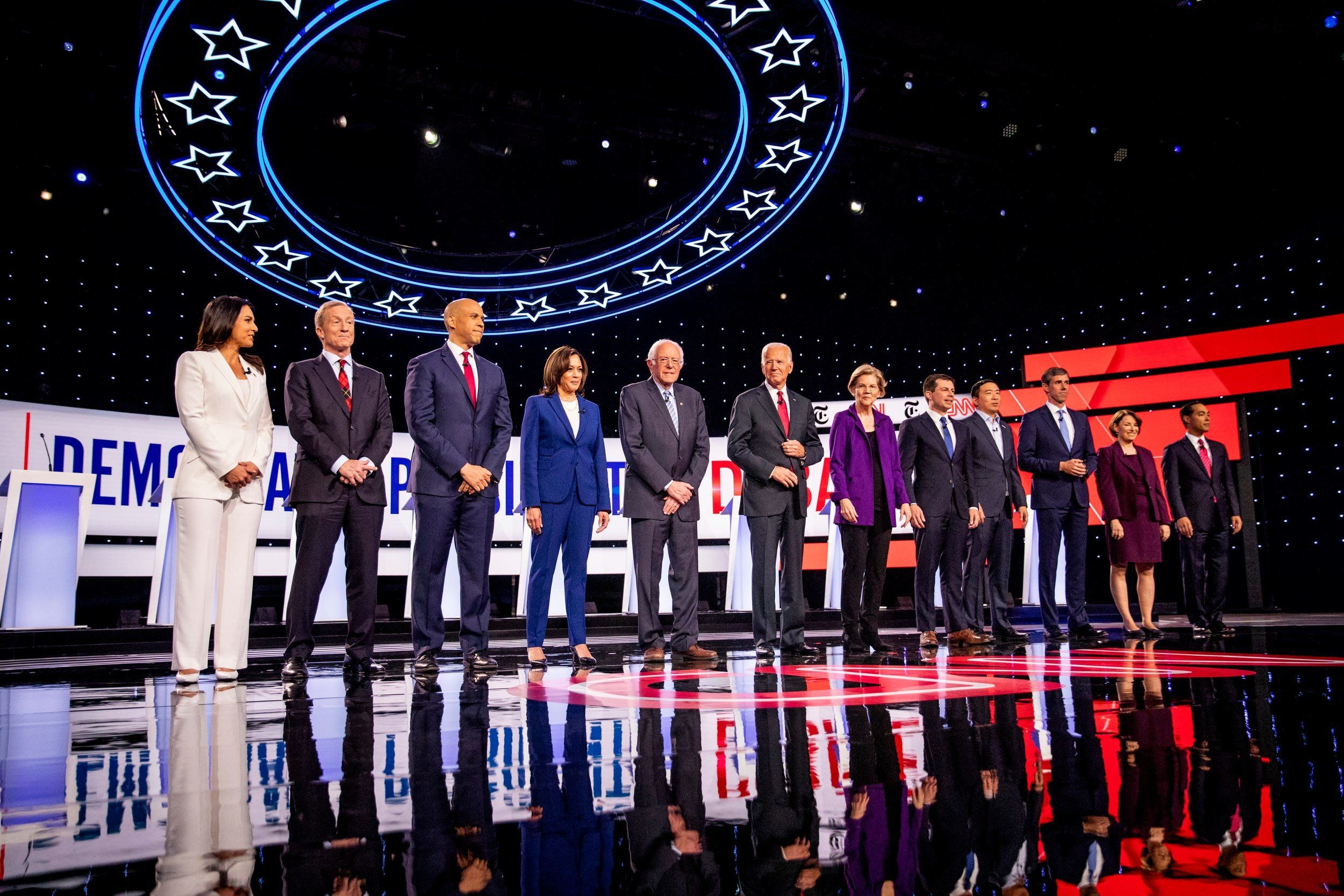 The Democratic debate: finally, foreign policy!
