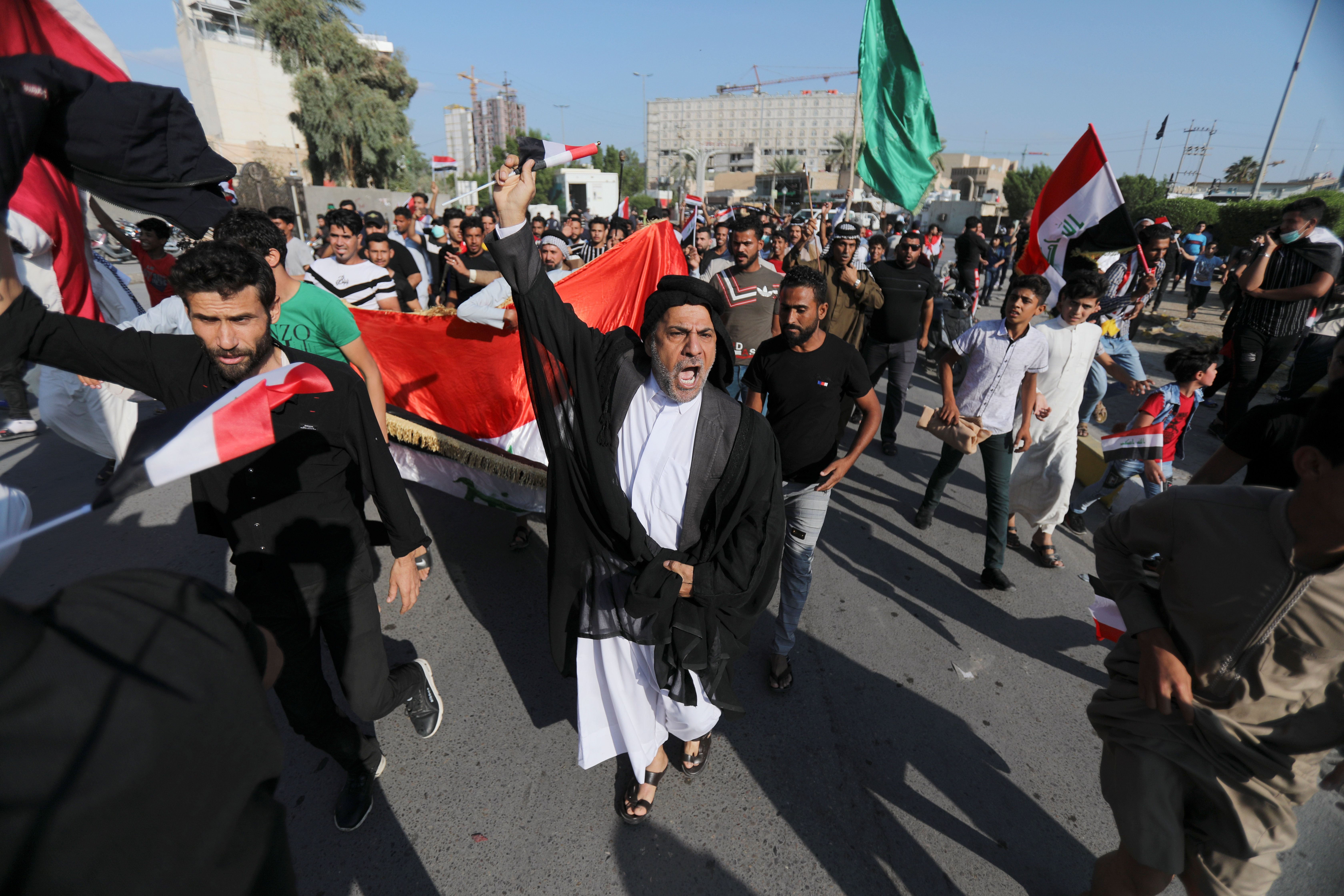 Iran isn't happy about the latest Middle East protests