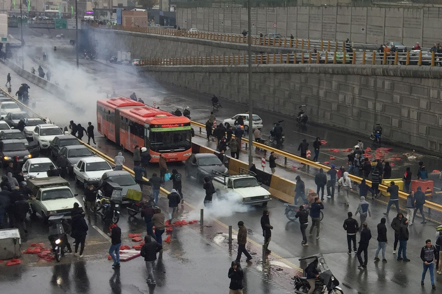 What We're Watching: Angry Iranians on the streets