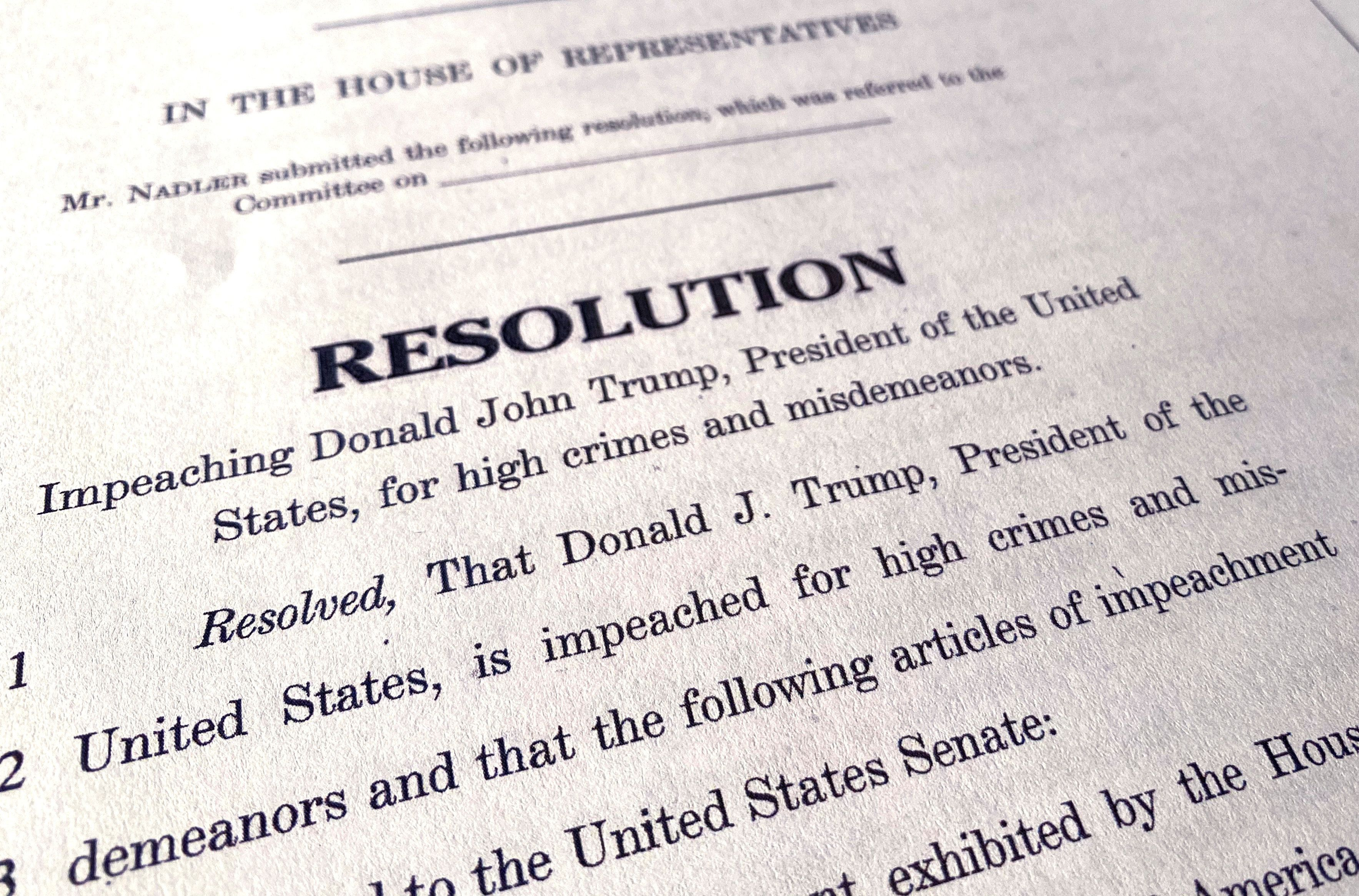 Articles of Impeachment! Now what?