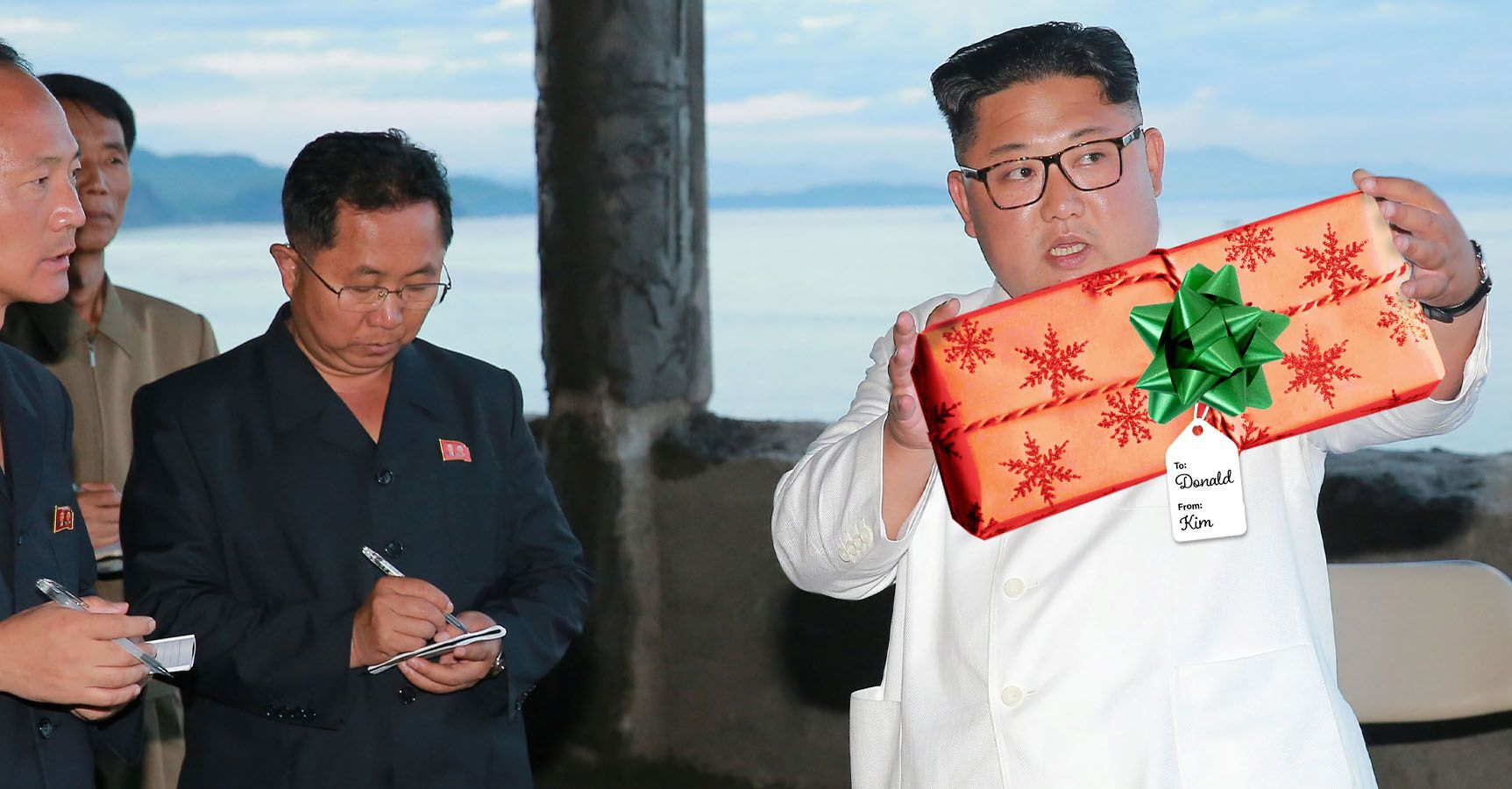 What We're Watching: It's a Kim Jong-un Christmas!