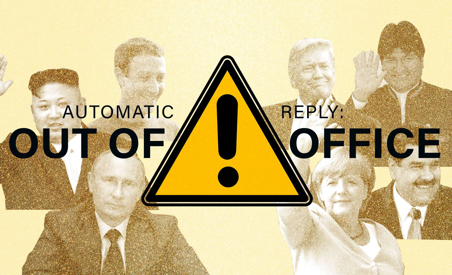 Which world leaders are out-of-office this holiday season?