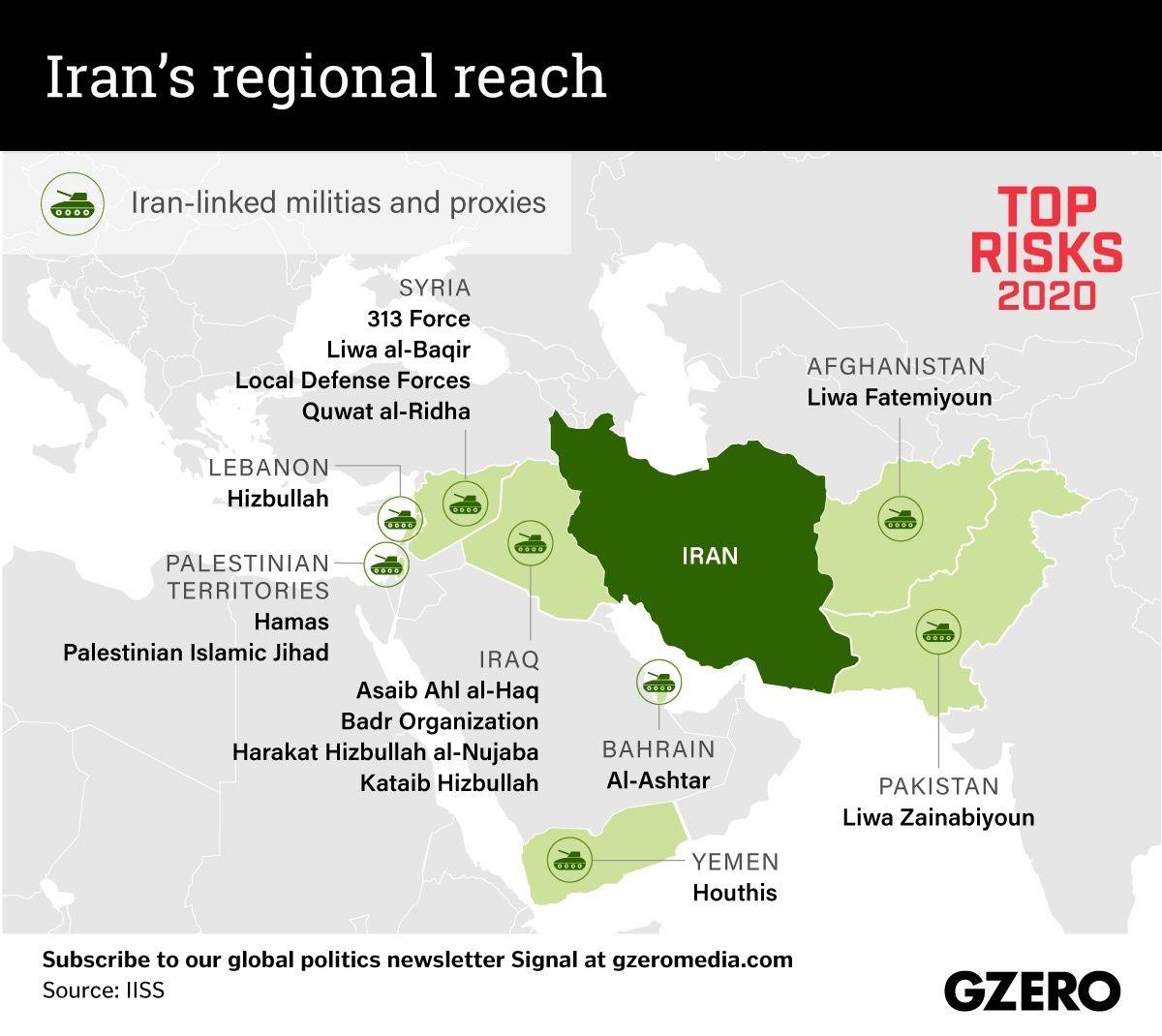 The Graphic Truth: Iran's regional reach