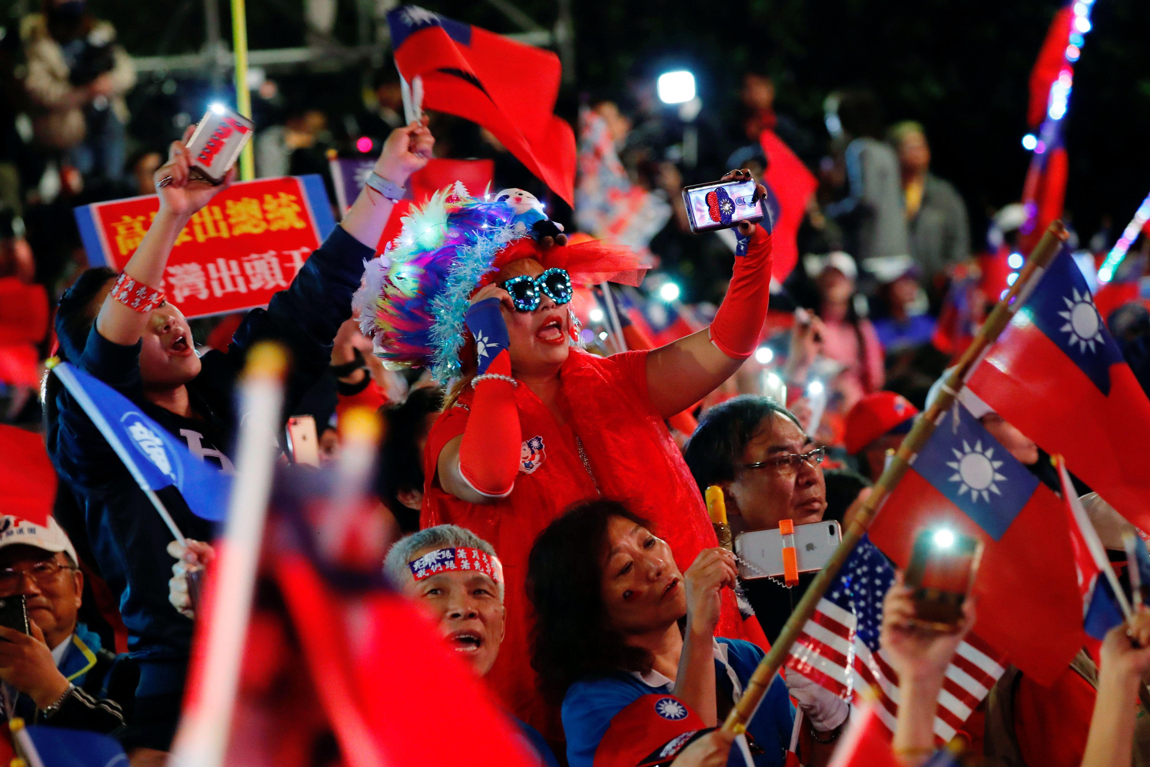 China watches as Taiwan chooses