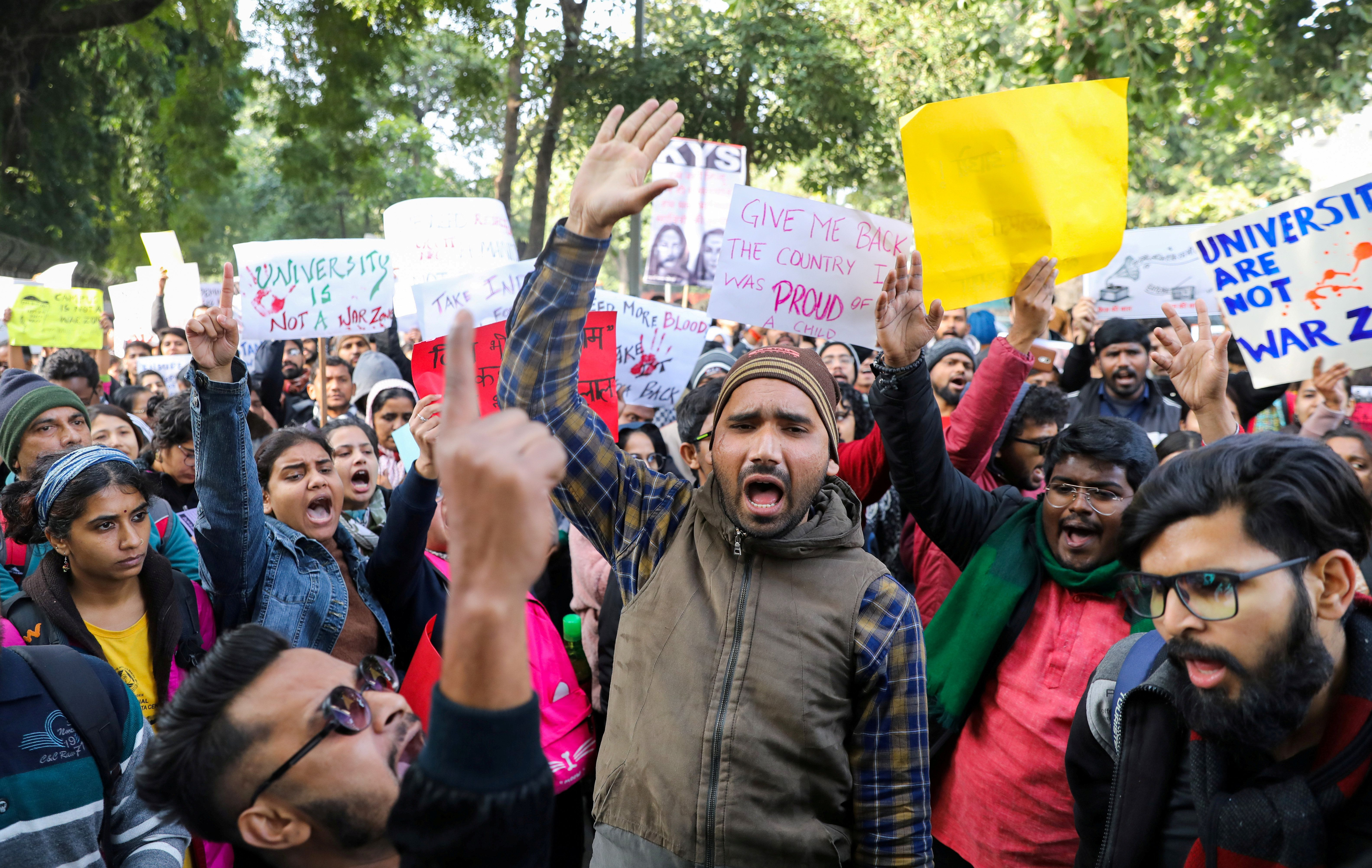 What We're Watching: Indian students' outrage
