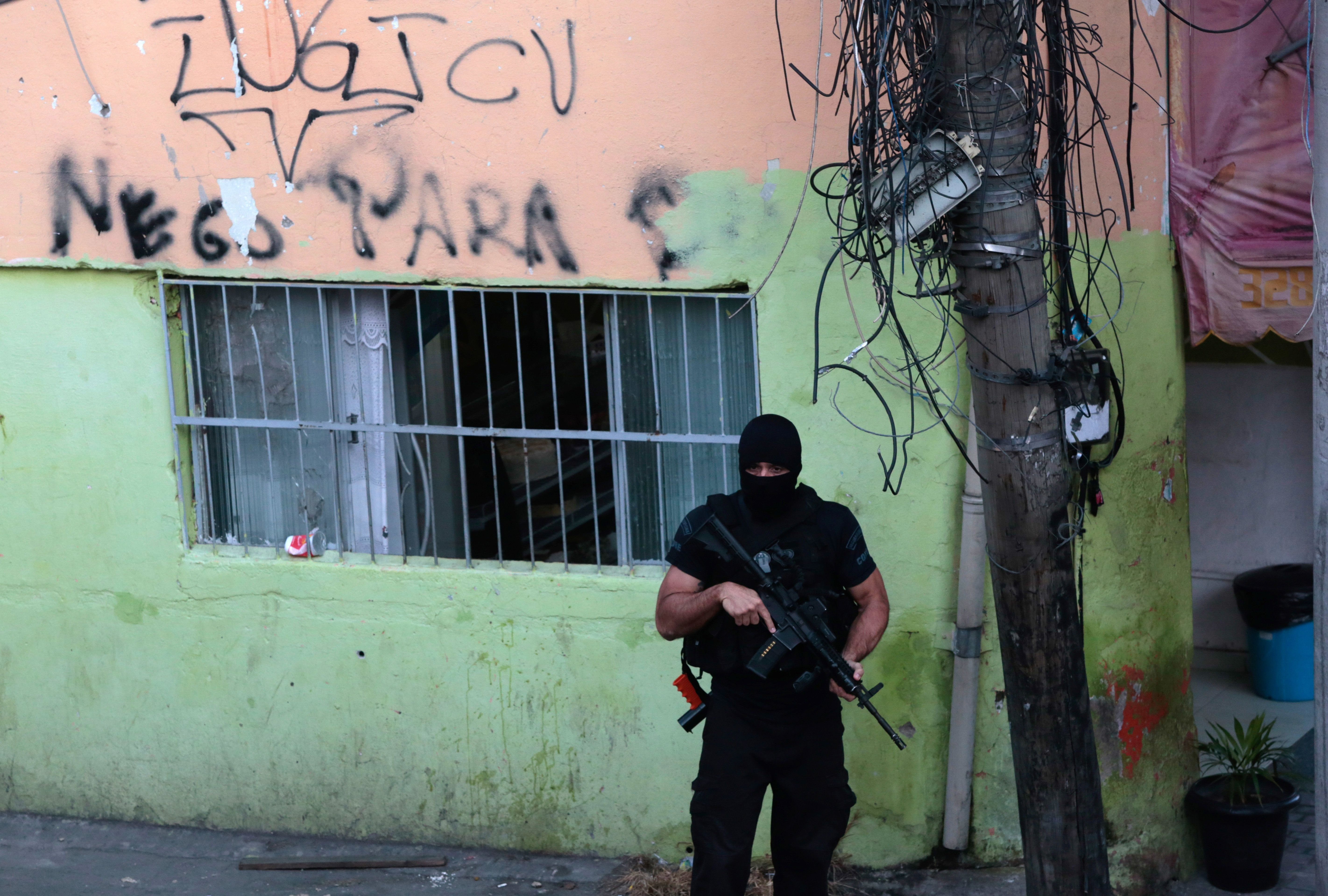 Hard Numbers: Five people killed daily by Rio's police