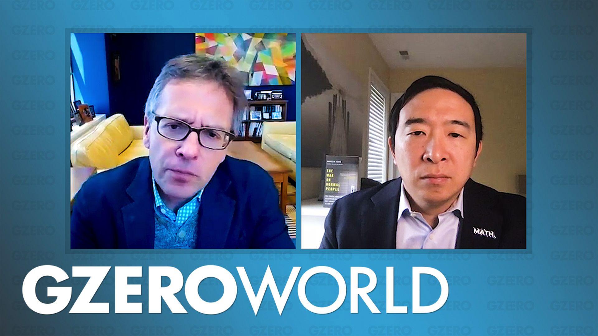 """Andrew Yang: """"We're experiencing 10 years of change in 10 weeks"""""""