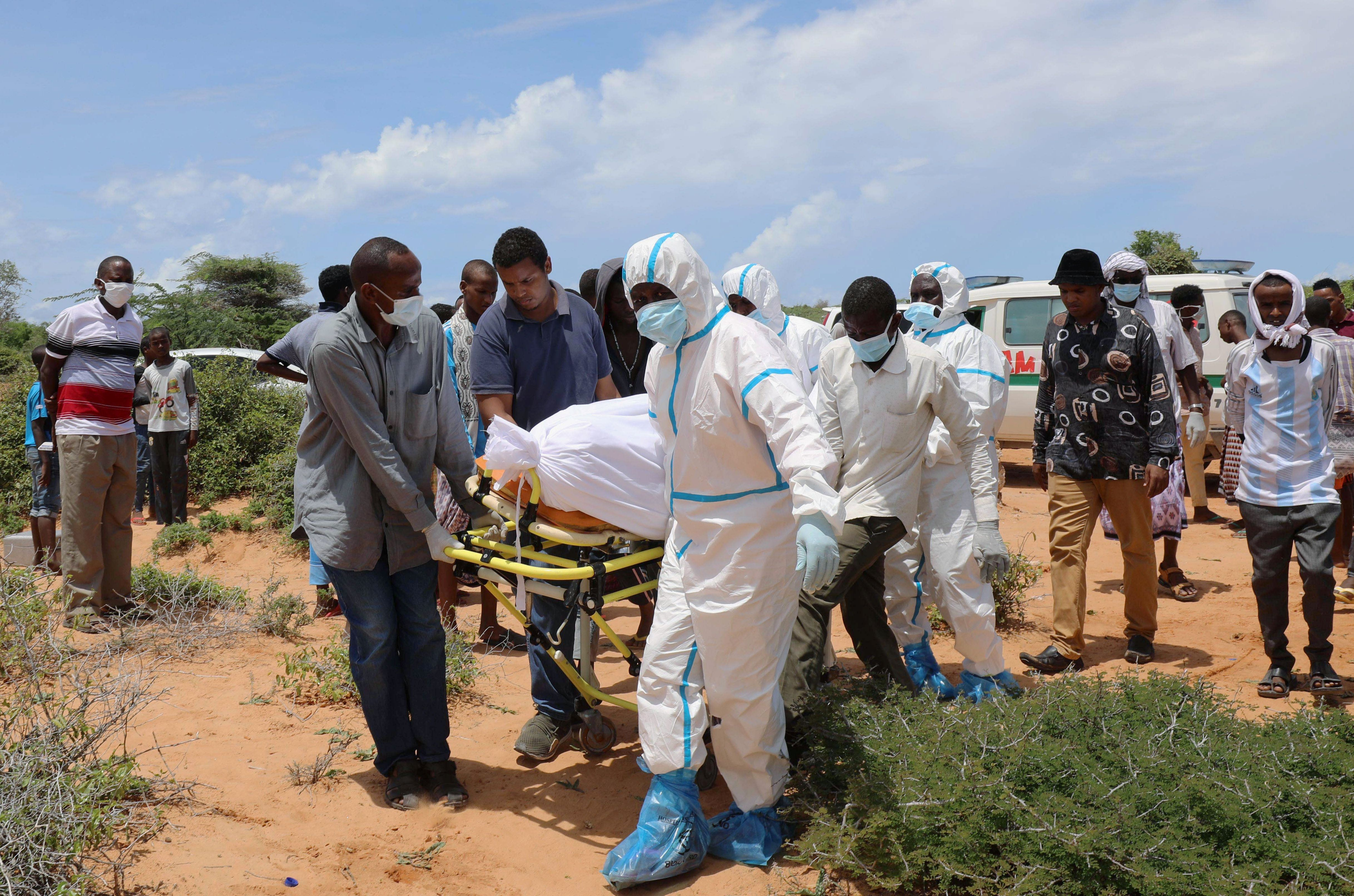 Hard Numbers: Somali healthcare crisis, UK COVID test failure, Colombian prison riot, views on women's rights