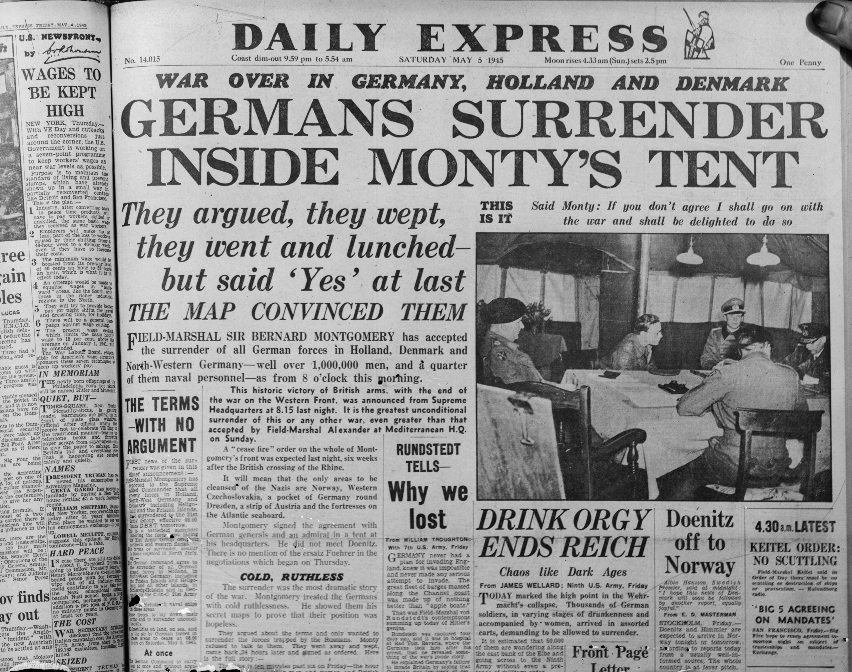 Is World War II over?