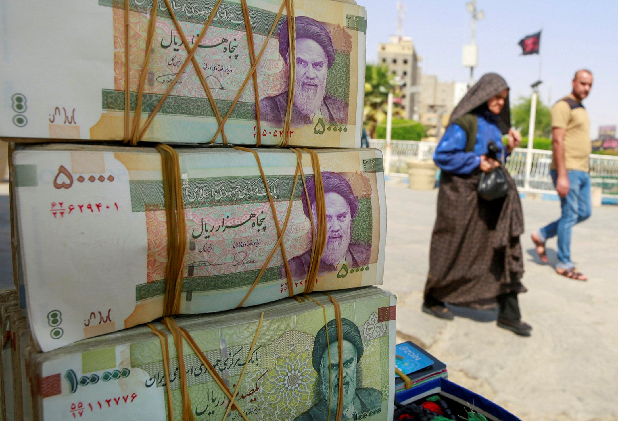 Hard Numbers: Iran kills four zeros, Putin hits all-time low, EU sees worst contraction ever