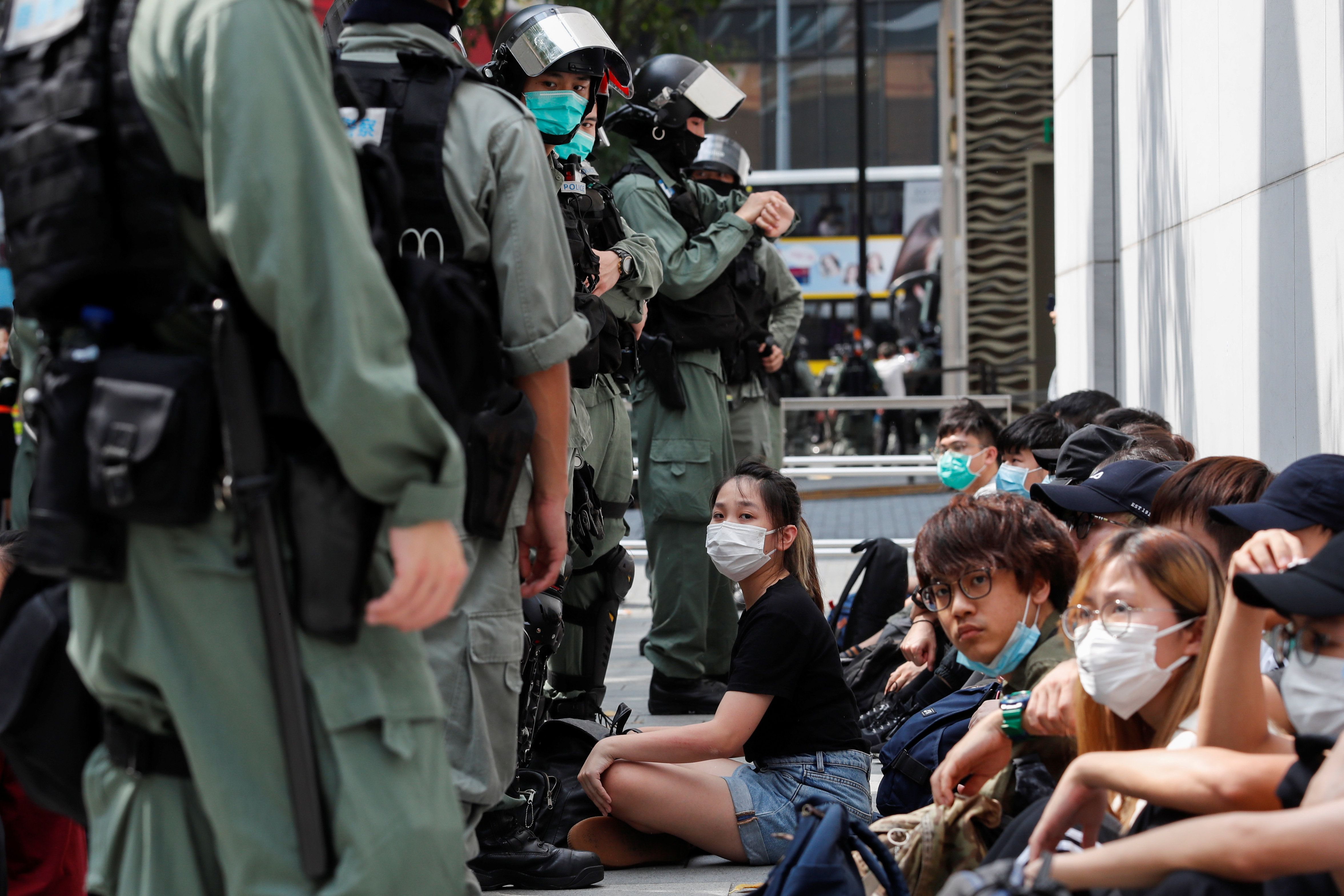 Hard Numbers: Hong Kong protests, Europe looks for big money, Afghan soldiers fall ill, greenhouse emissions drop