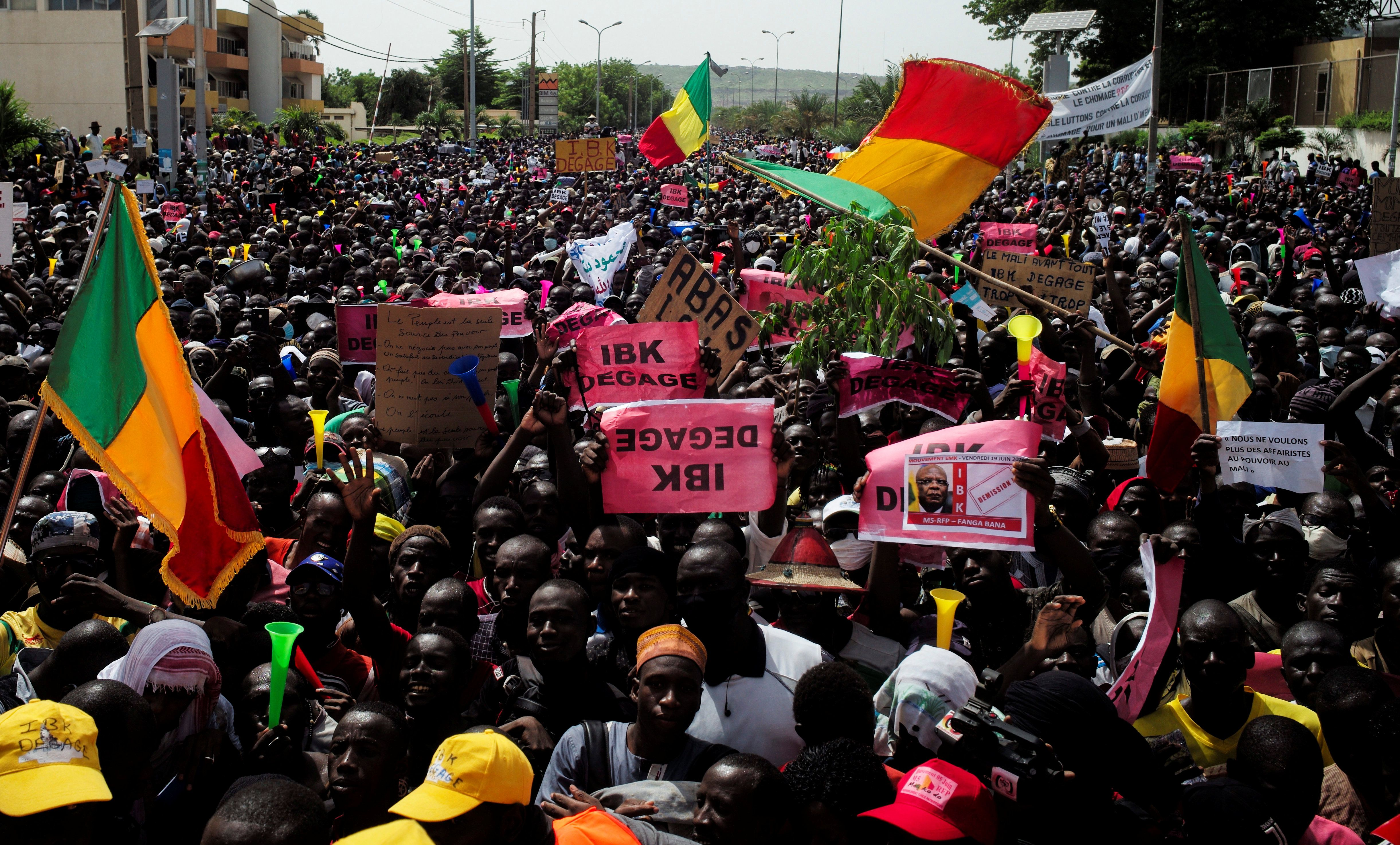 What We're Watching: Mali's protests, Israel's annexation, Poland's election