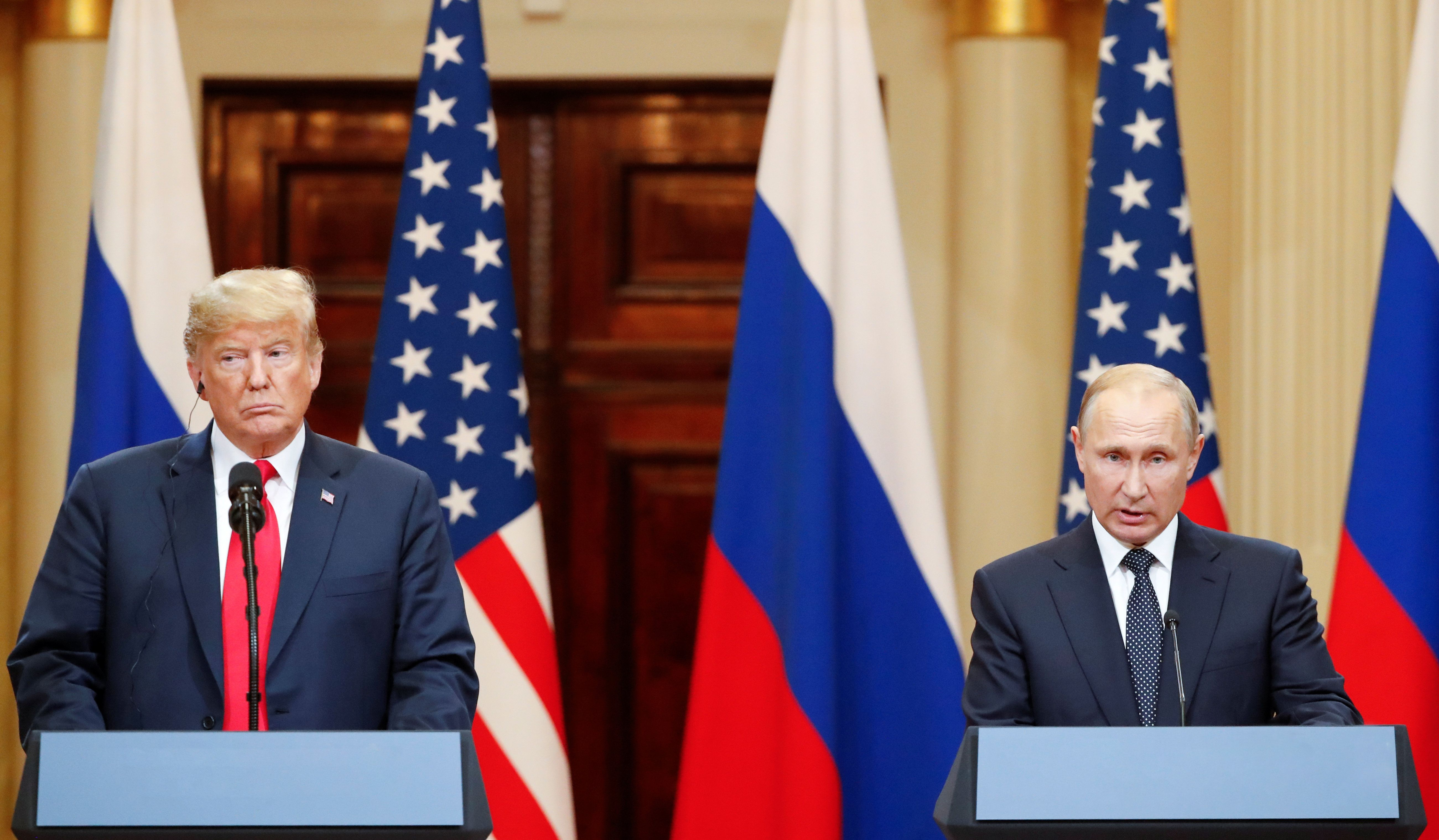 President Trump is in a(nother) Russia bind