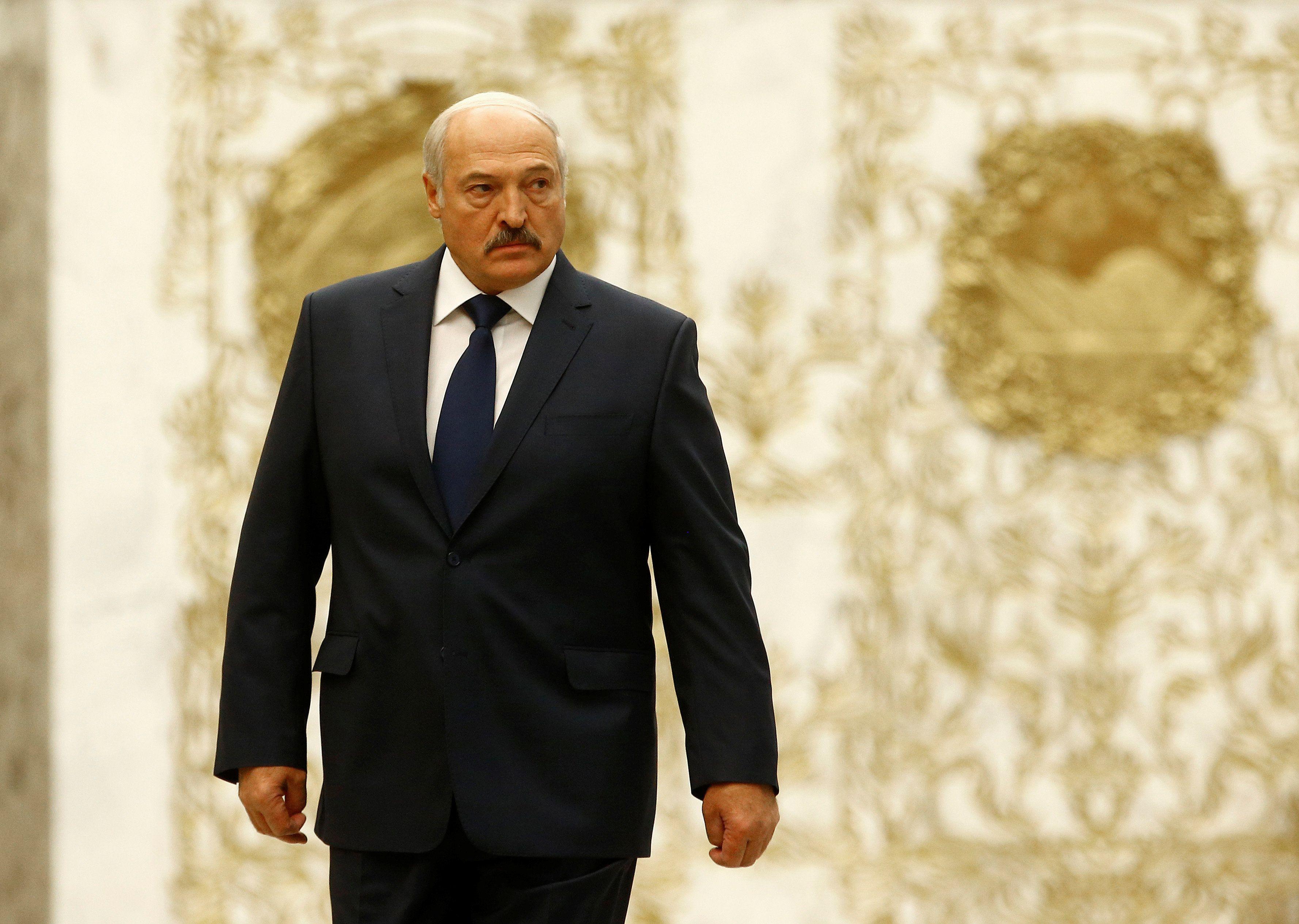 "Belarus protesters vs ""Psycho 3%"""