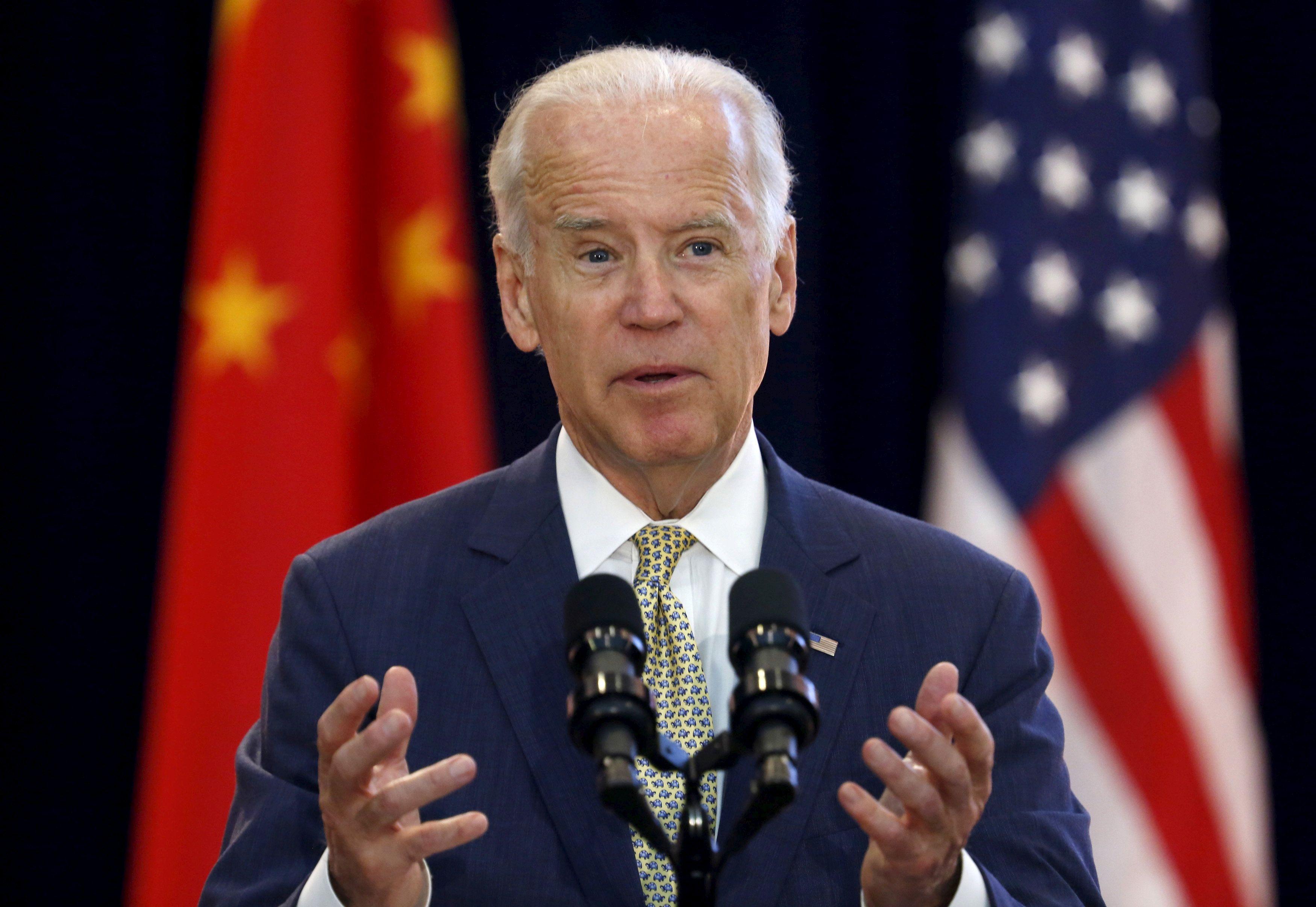 Biden goes to China