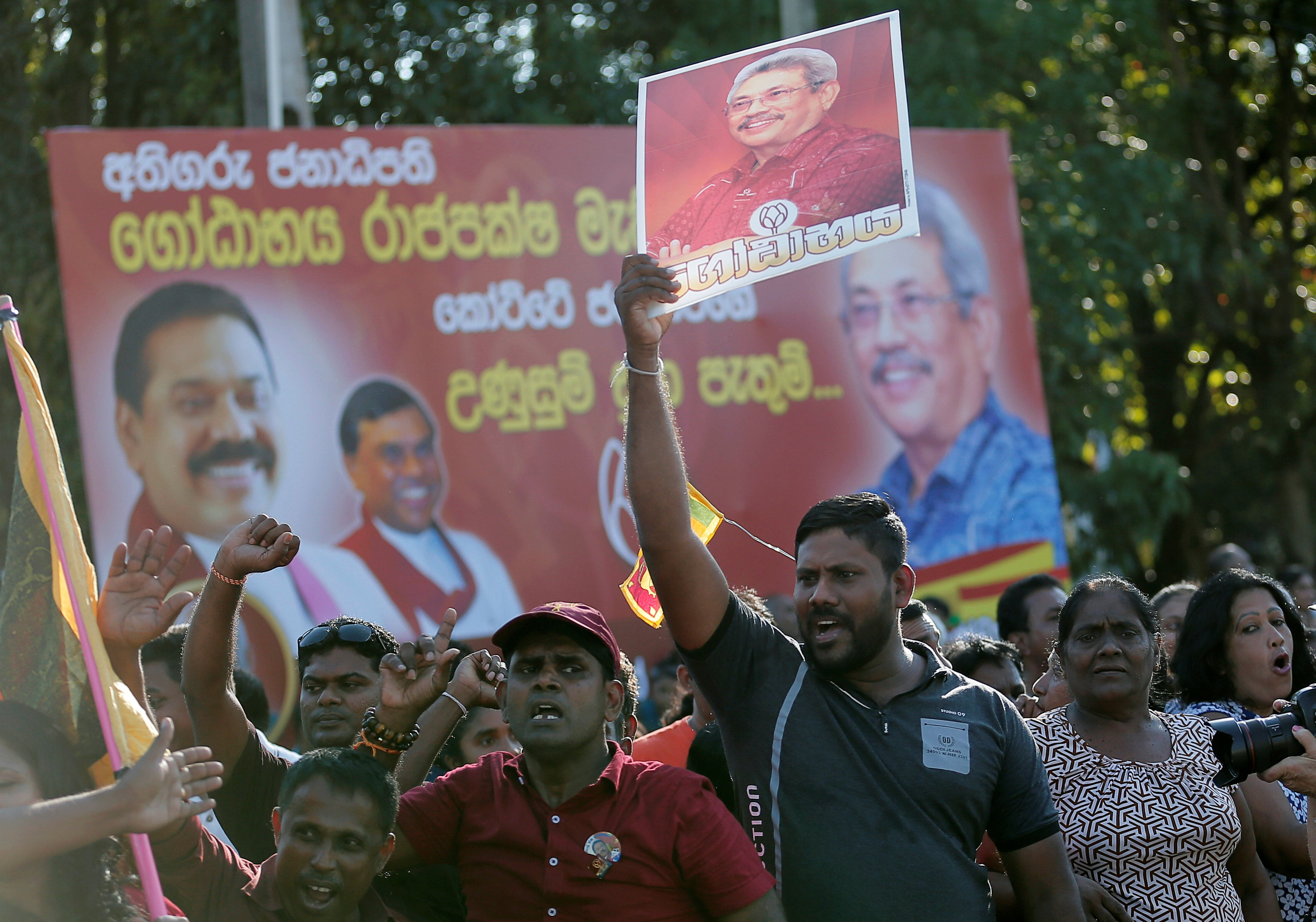 Sri Lanka is voting, China is smiling