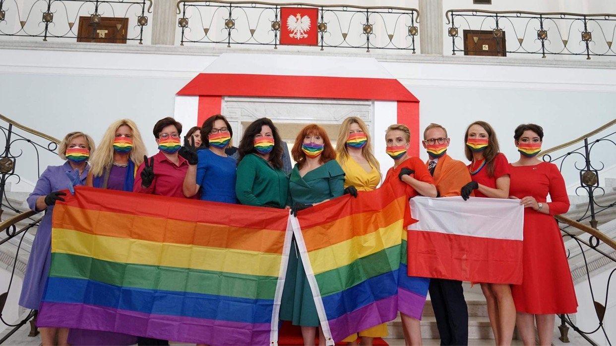 What We're Watching: A Polish rainbow, Macron in Lebanon, Bolsonaro must protect indigenous communities