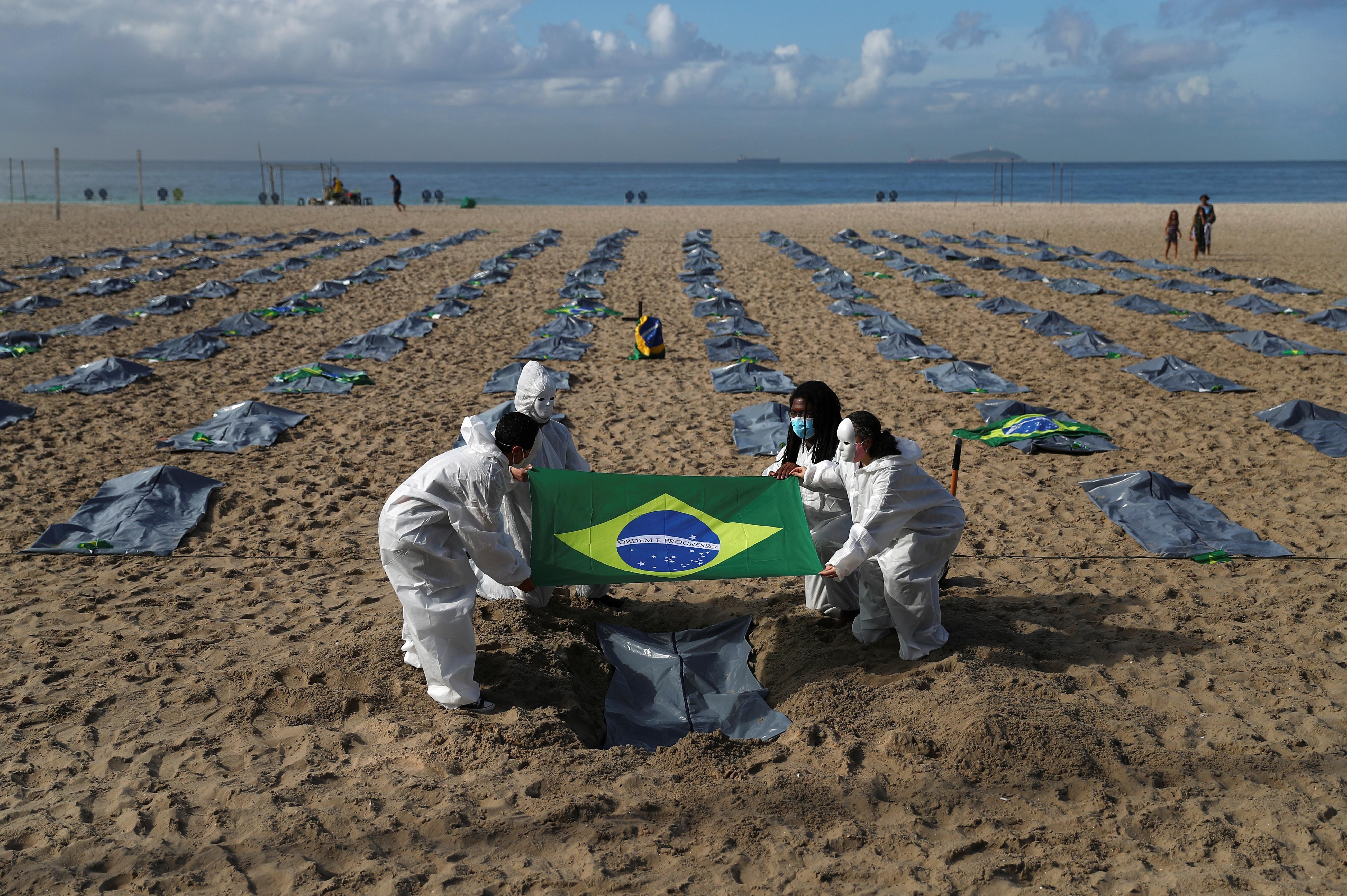 What We're Watching: The world ignoring Brazil, El Salvador's strongman, the US' vaccine stash