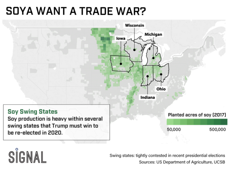 Graphic Truth: Soya Want a Trade War?