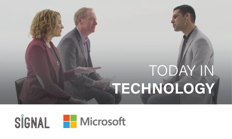 Go behind the scenes of Microsoft's Seeing AI app with Brad Smith