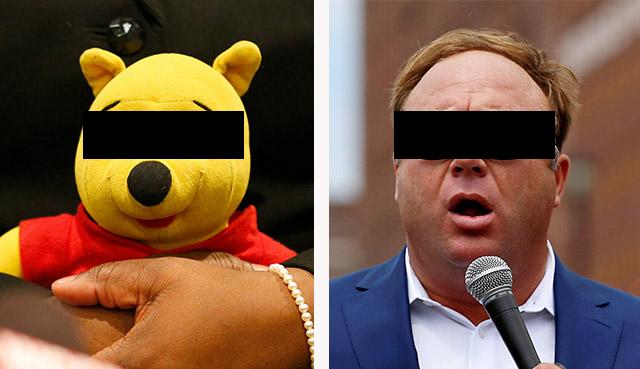 Cartoon Villains, Real Fears: Pooh and Jones