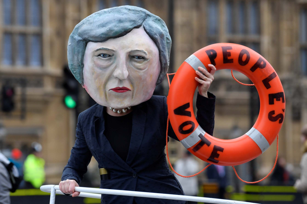 Theresa May Is Not Politically Dead Yet