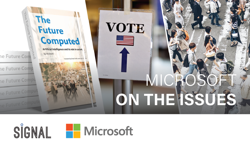 Get the latest news from Microsoft on the most pressing policy issues