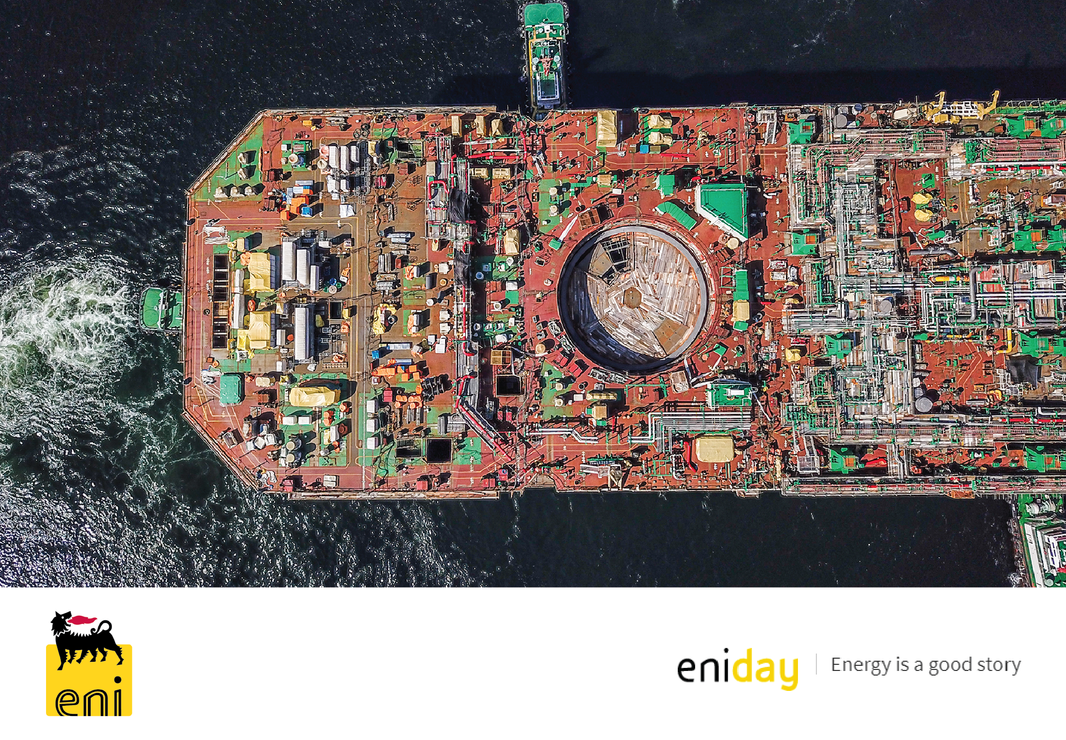 Converting a gas production plant into a ship