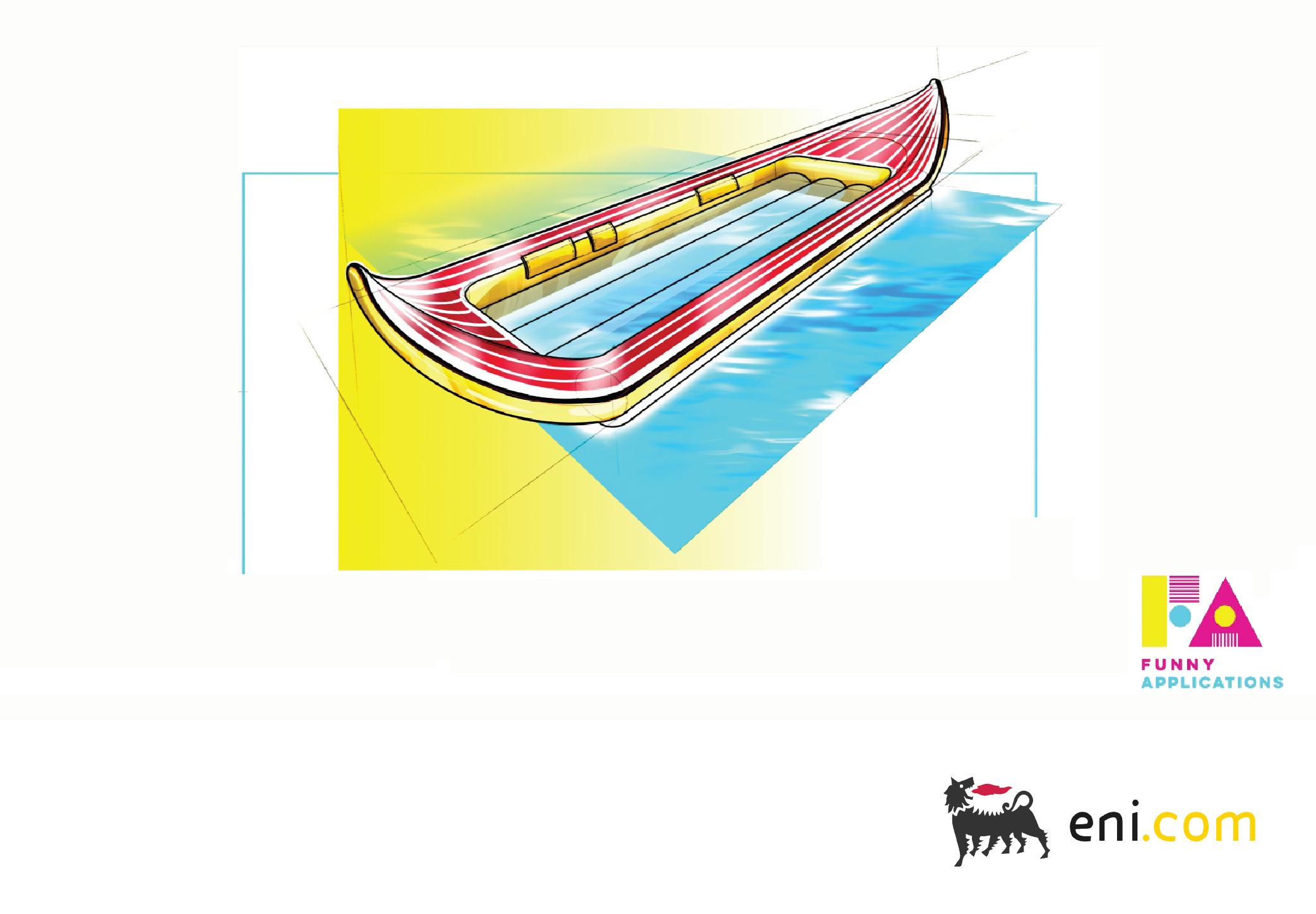 A canoe that captures solar energy?