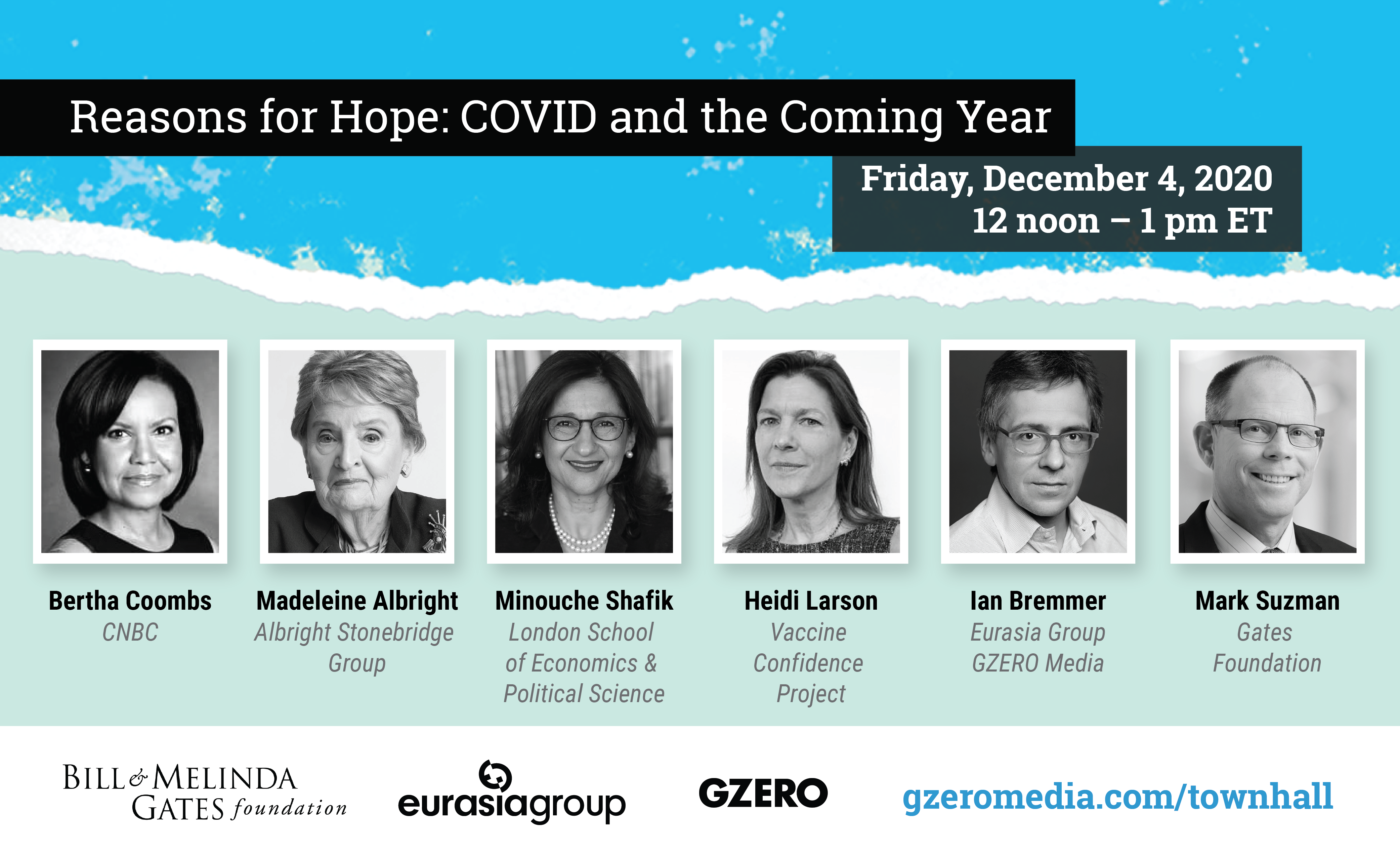 Watch our expert panel on reasons for hope in the COVID crisis