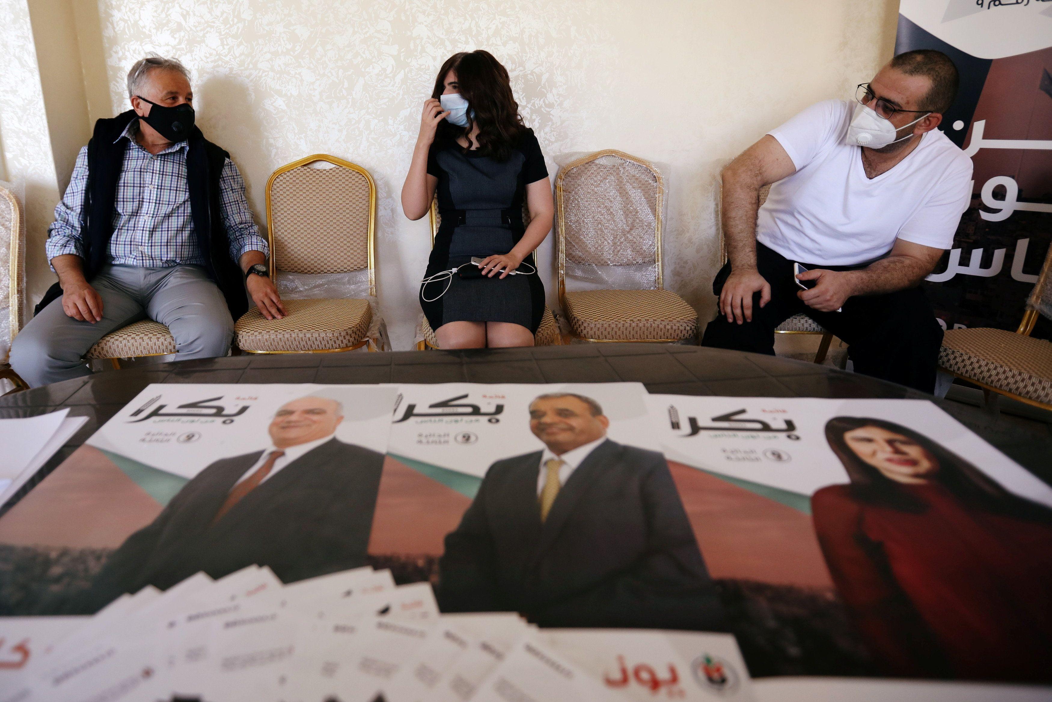 Jordan prepares for parliamentary elections. Reuters