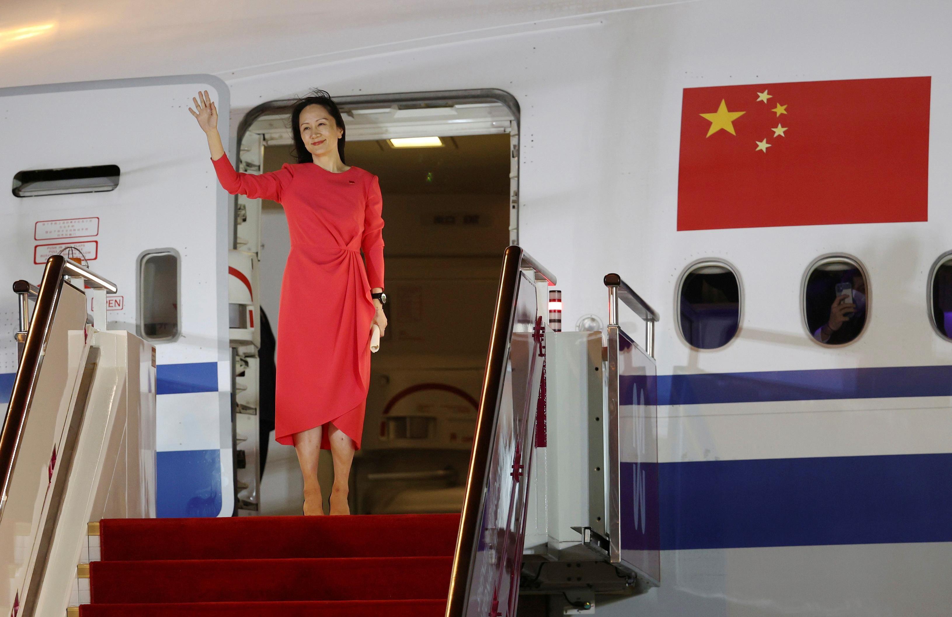 Meng Wanzhou, Chief Financial Officer of Huawei