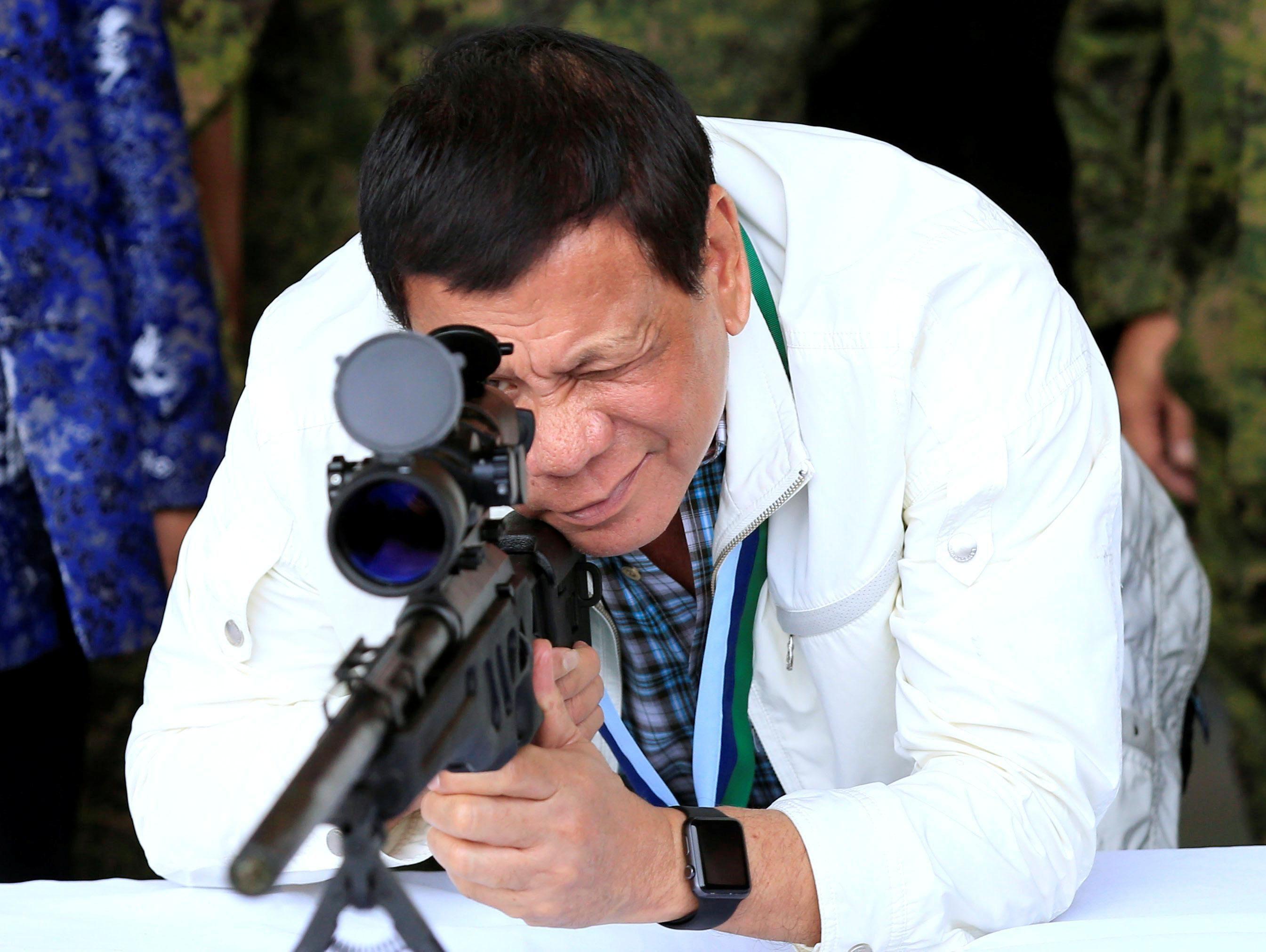 Philippine President Rodrigo Duterte. Reuters