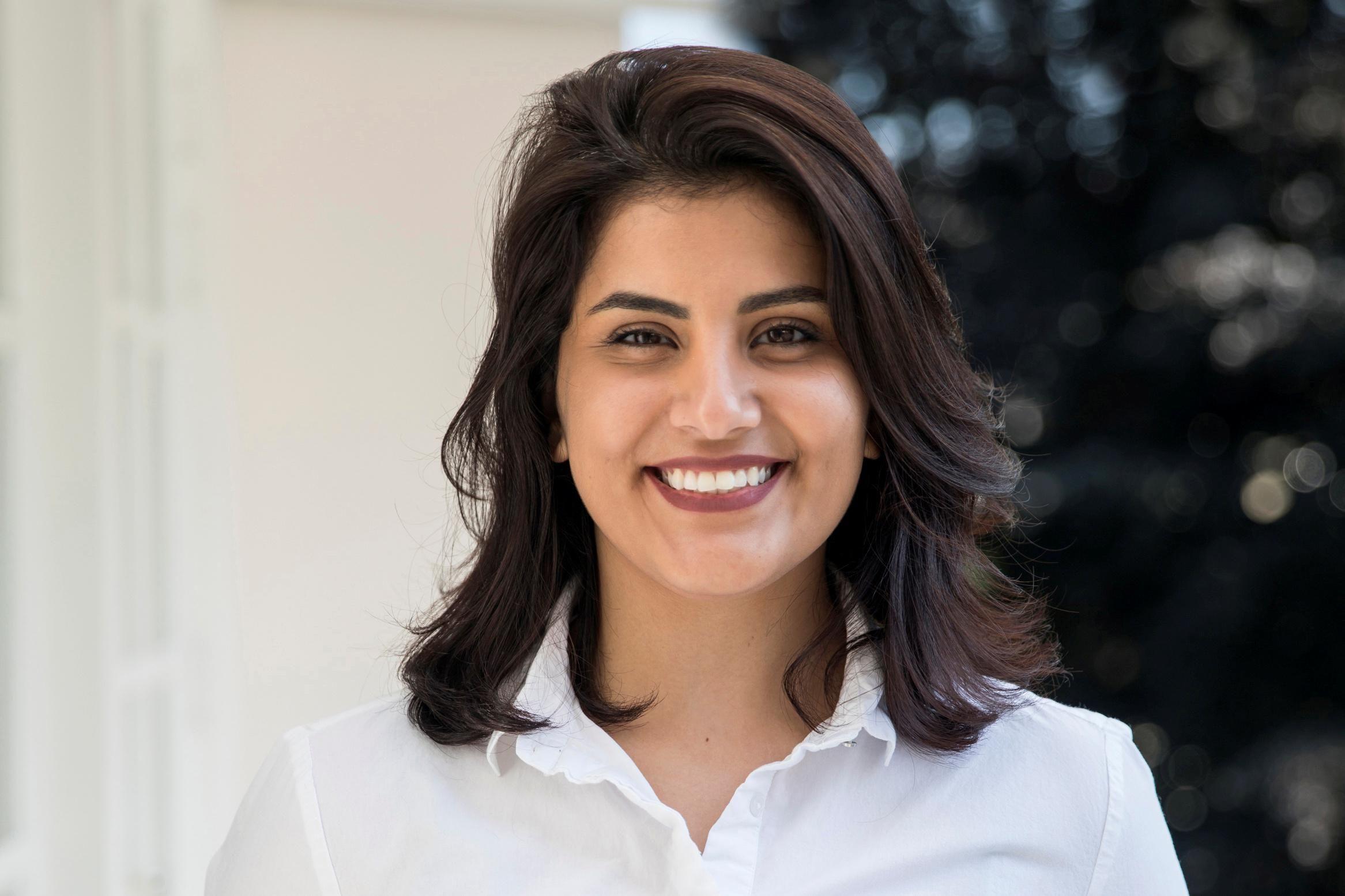 Saudi women's rights activist Loujain al-Hathloul. Reuters